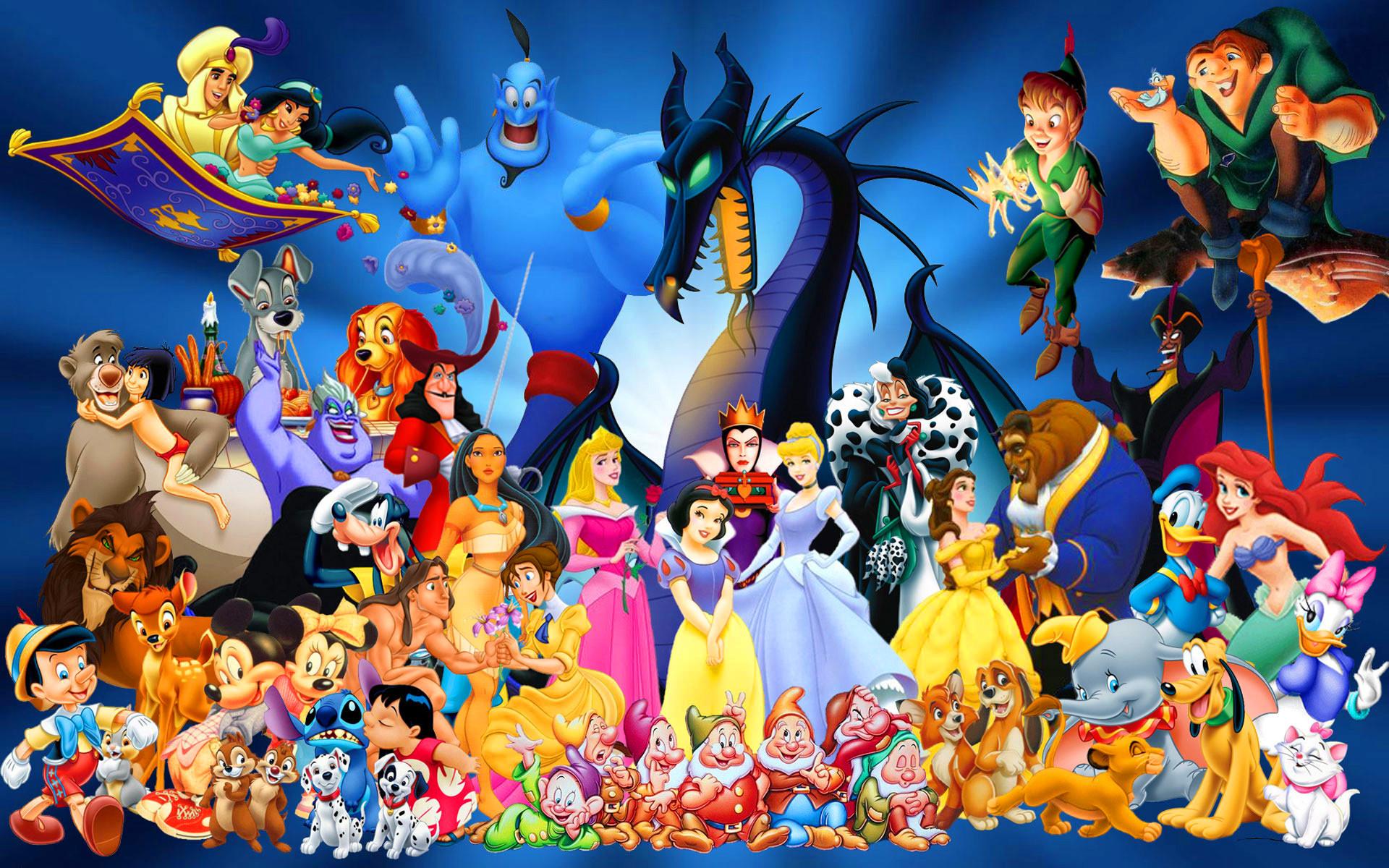 Free Disney Cartoon Characters, computer desktop wallpapers, pictures .