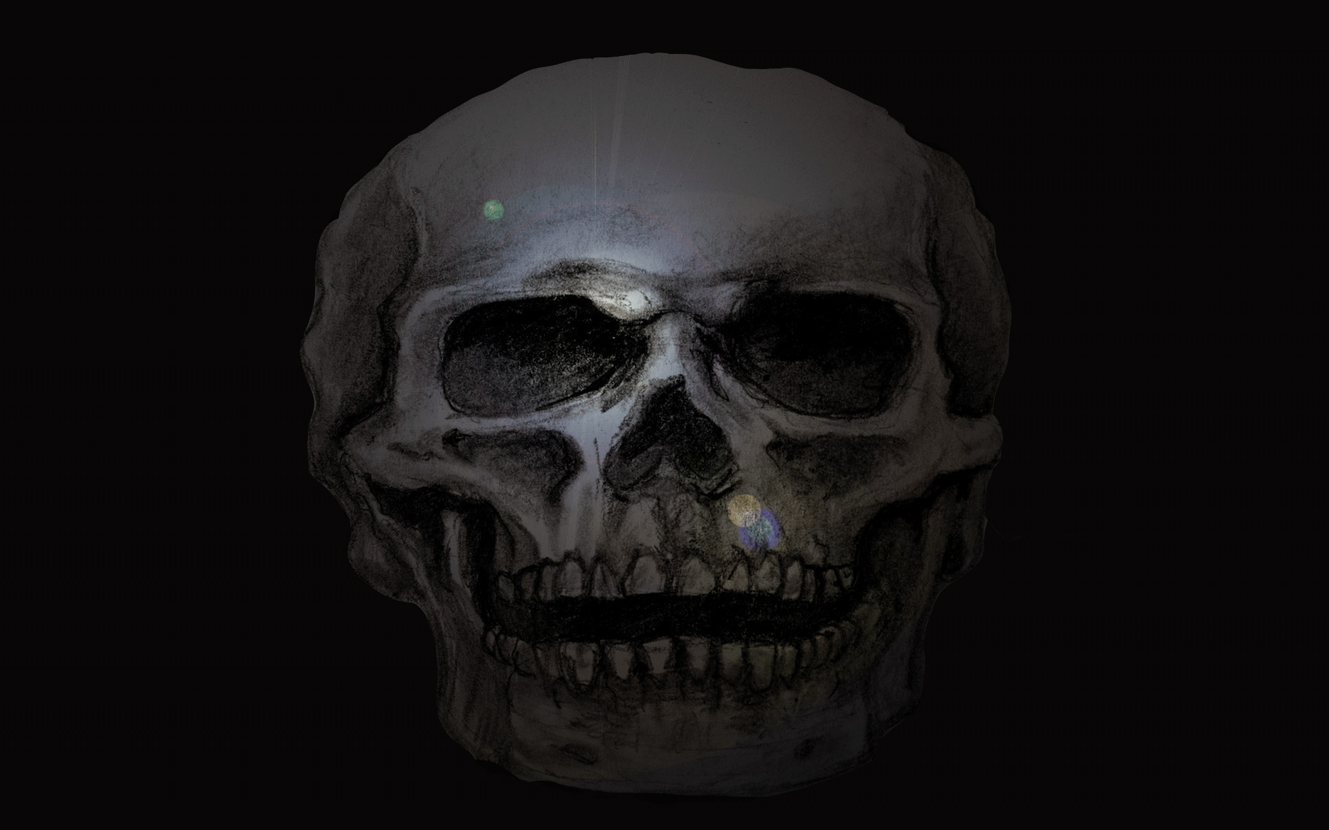 Skull Desktop Computer Wallpaper Background And Animated GIF