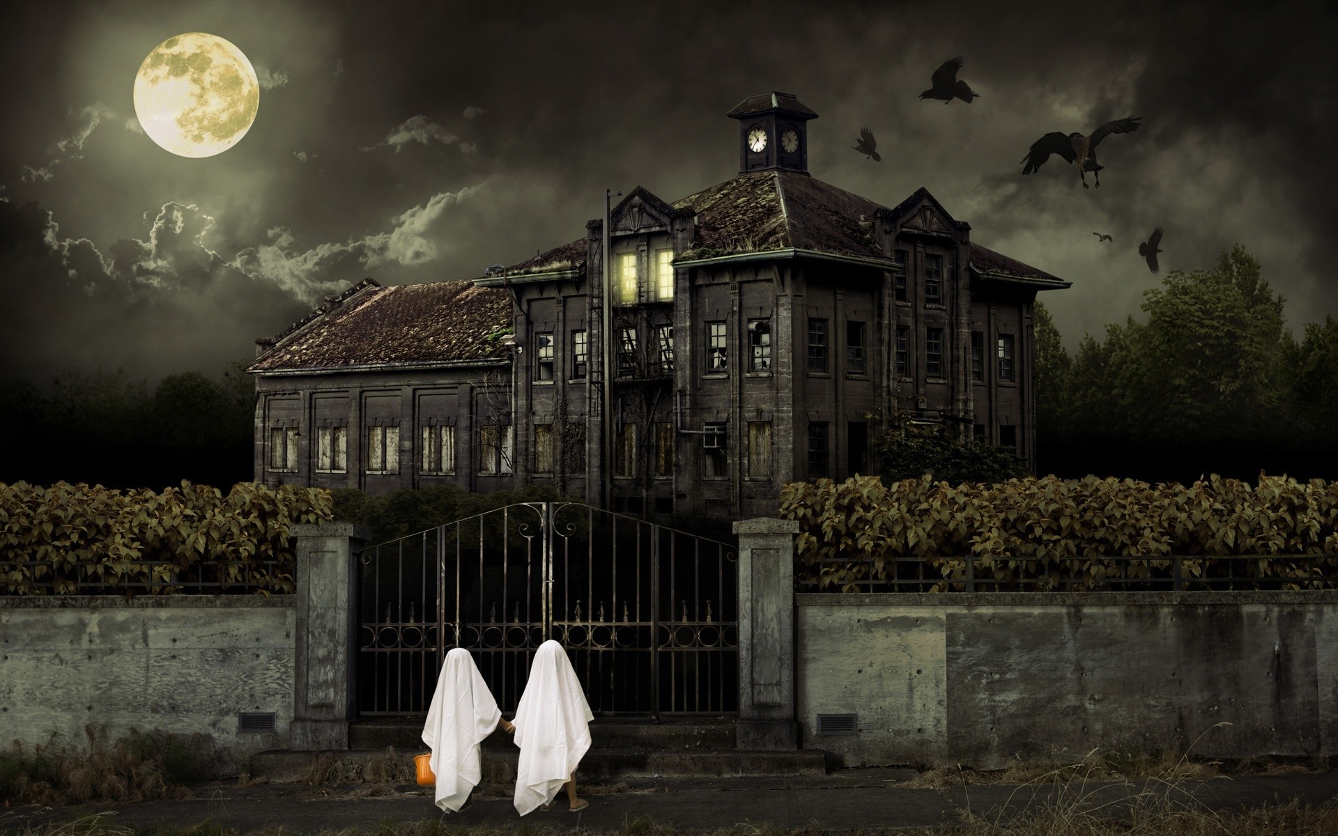 Preview Scary Animated Halloween Images by Asdrubal Limpkin