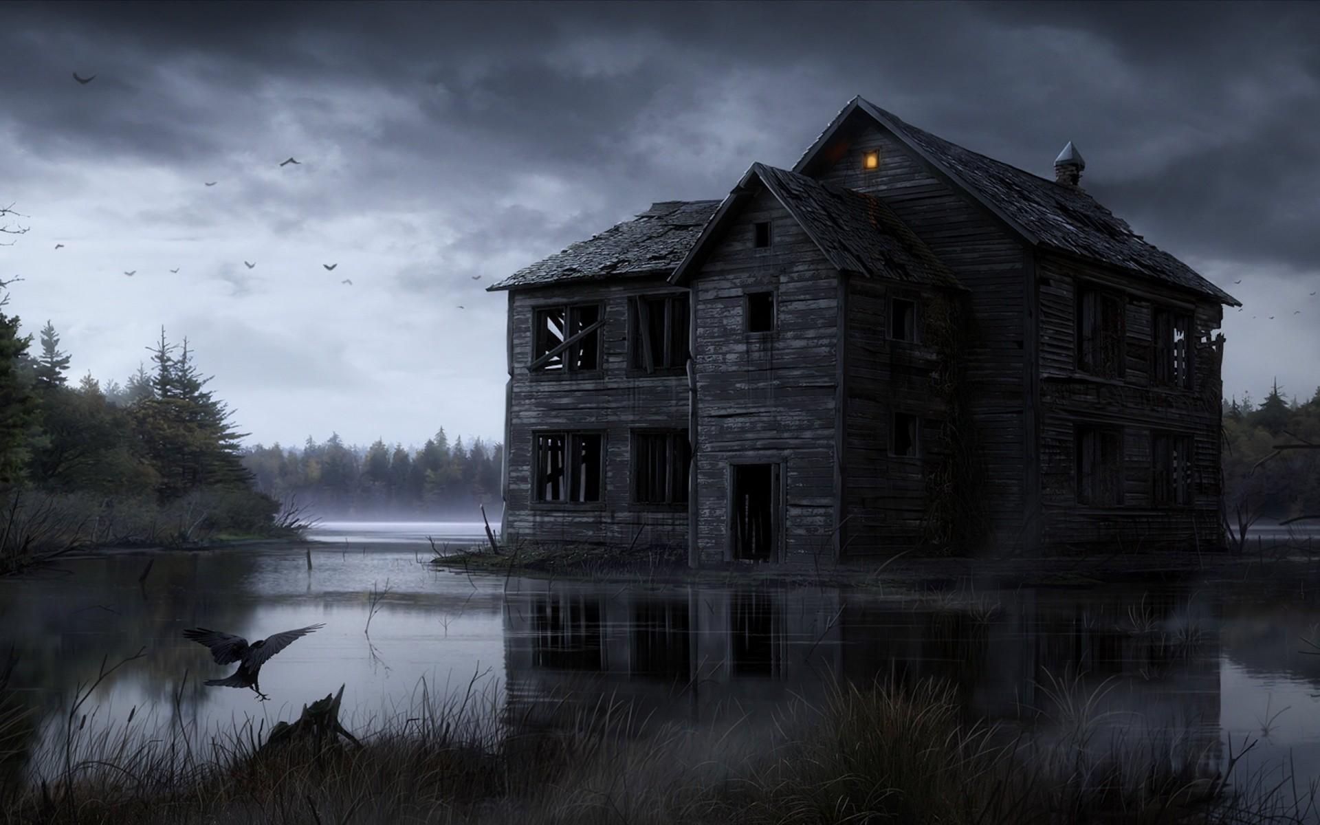 halloween, dark, ghost, horror, haunted,