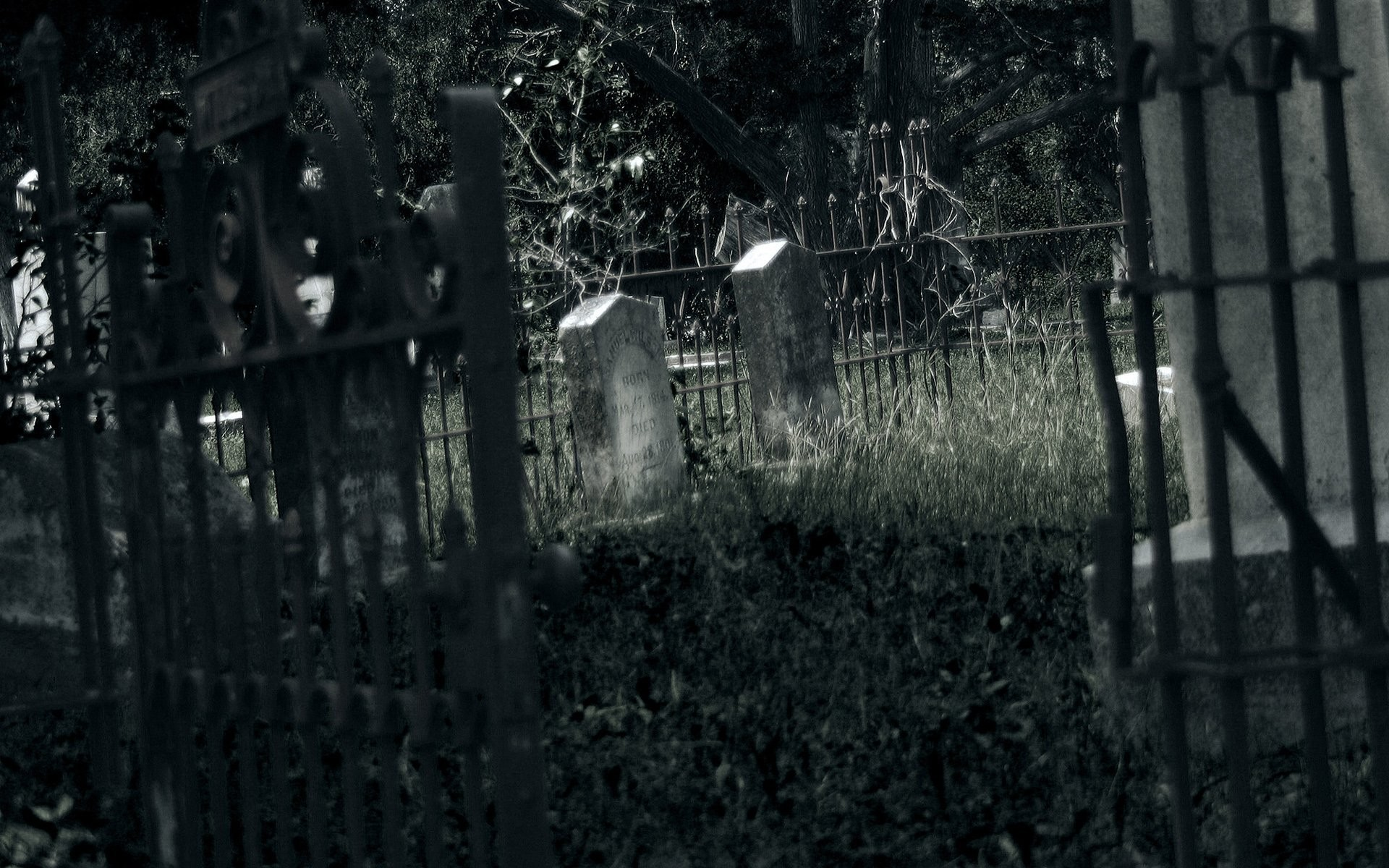Cemetery Backgrounds WallDevil