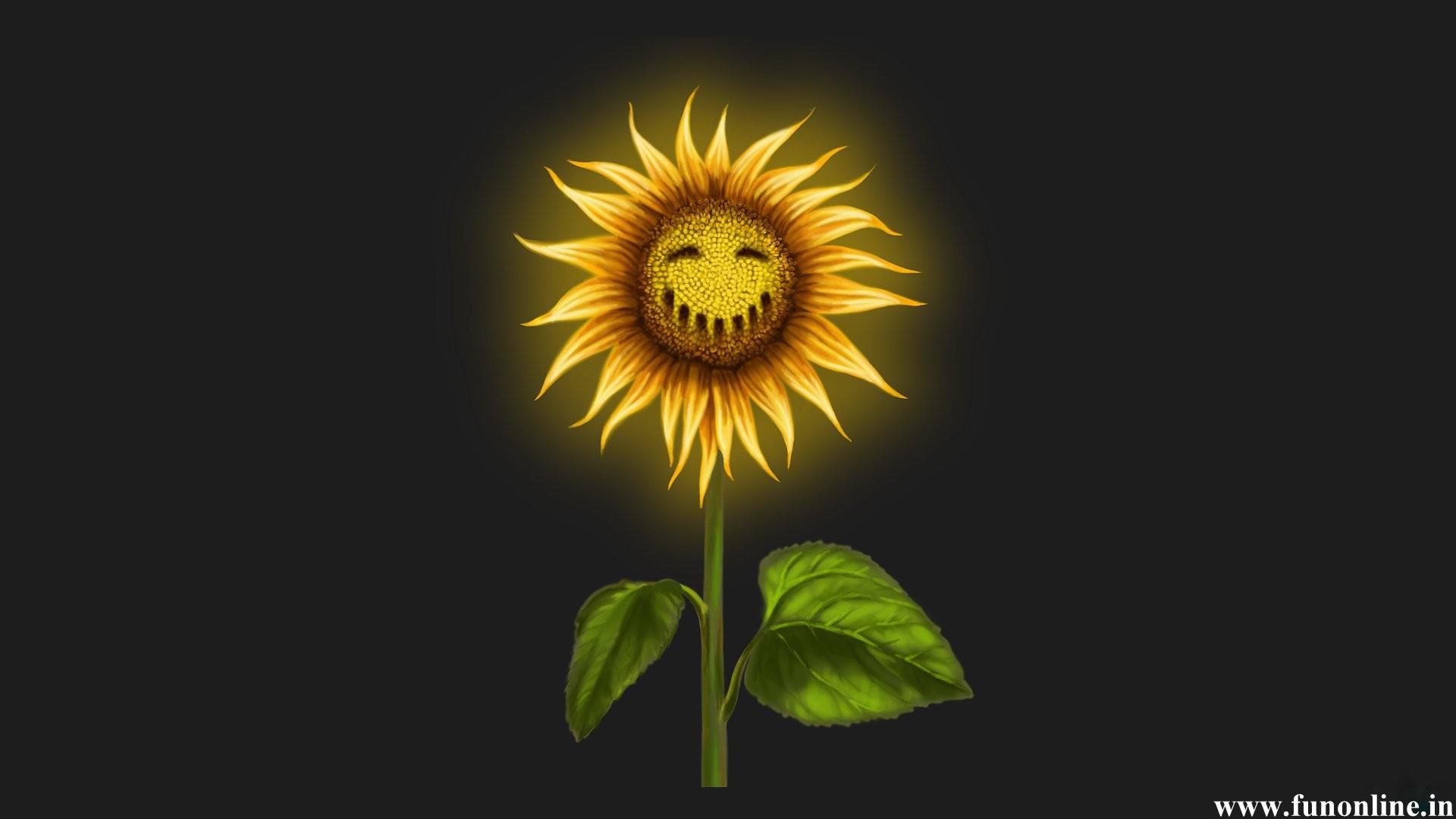 Halloween Sunflower