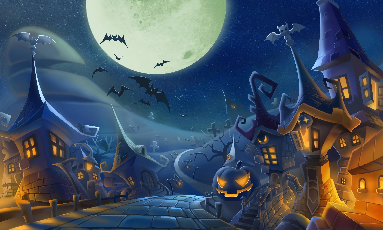 Halloween, Bats Wallpapers HD / Desktop And Mobile Backgrounds