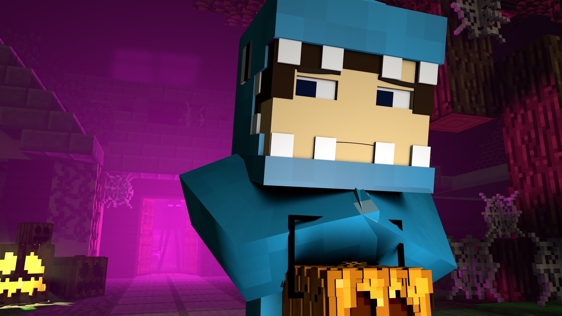 Trick or Treat – Minecraft Animation (Halloween Special!)