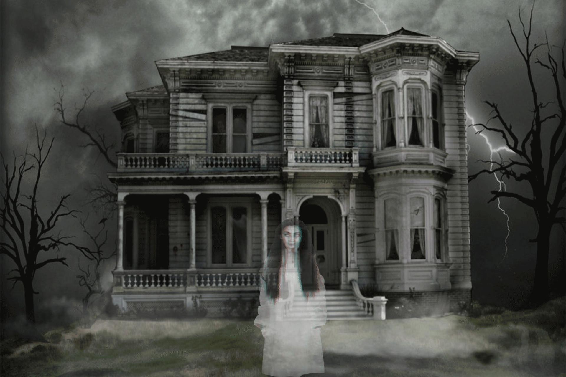halloween wallpaper rusty · ghost