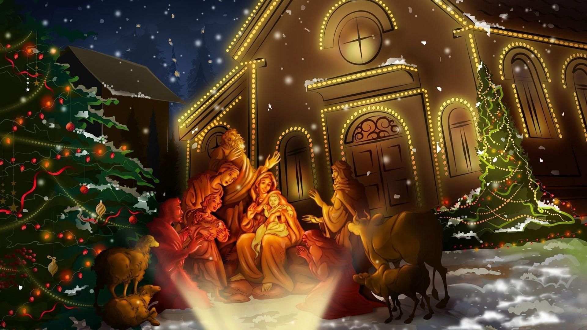 Animated Christmas Desktop wallpapers