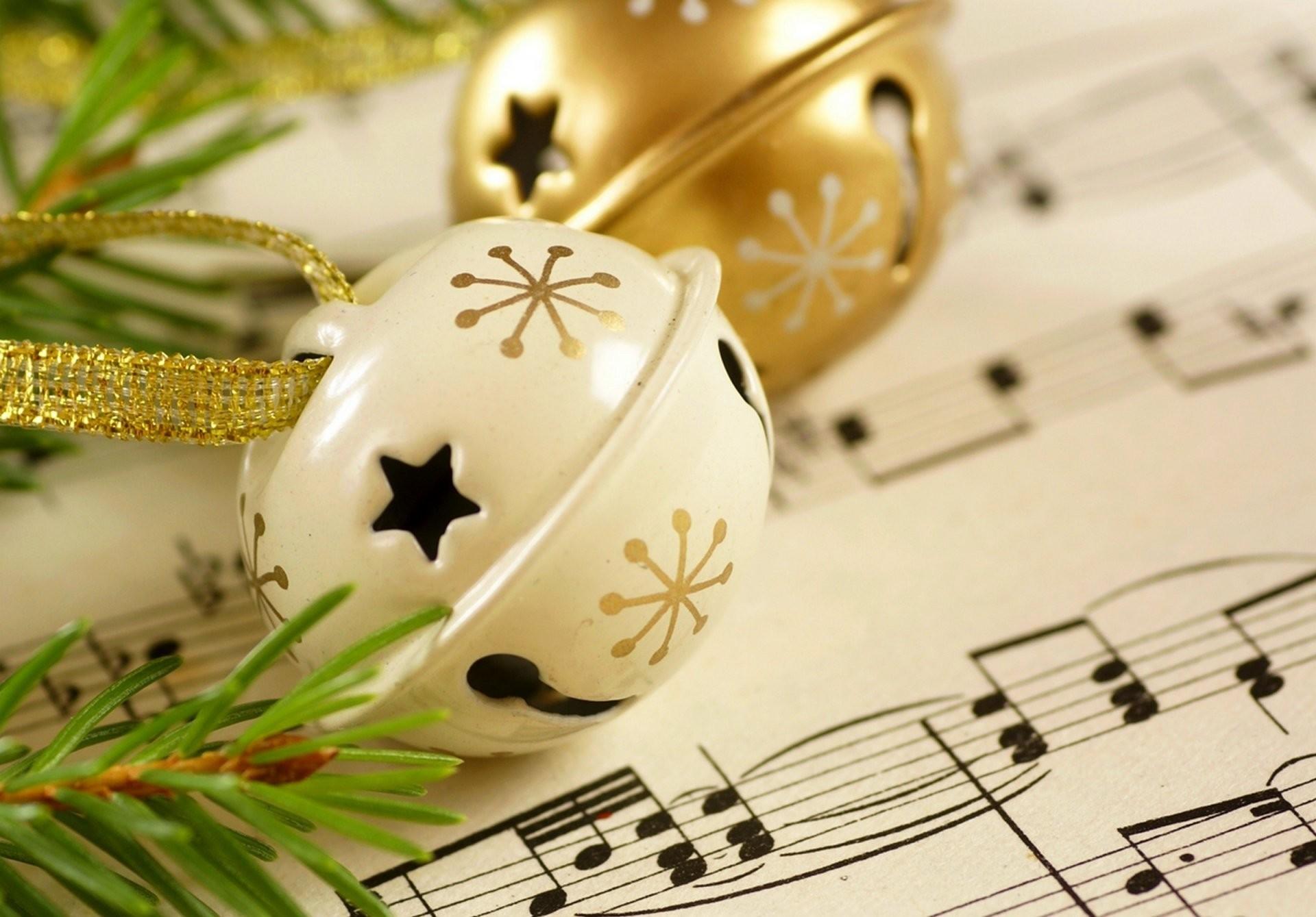 happy new year merry christmas music bells winter holiday notes new year  christmas holiday notes music