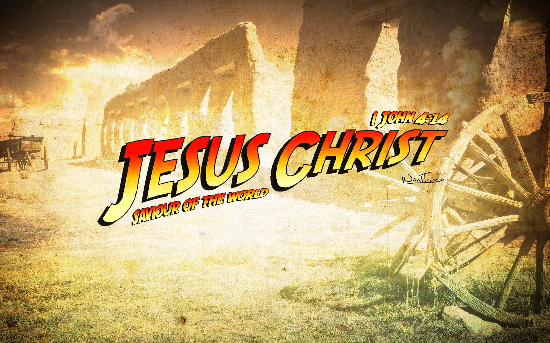Jesus Christ (Indiana Jones Style)