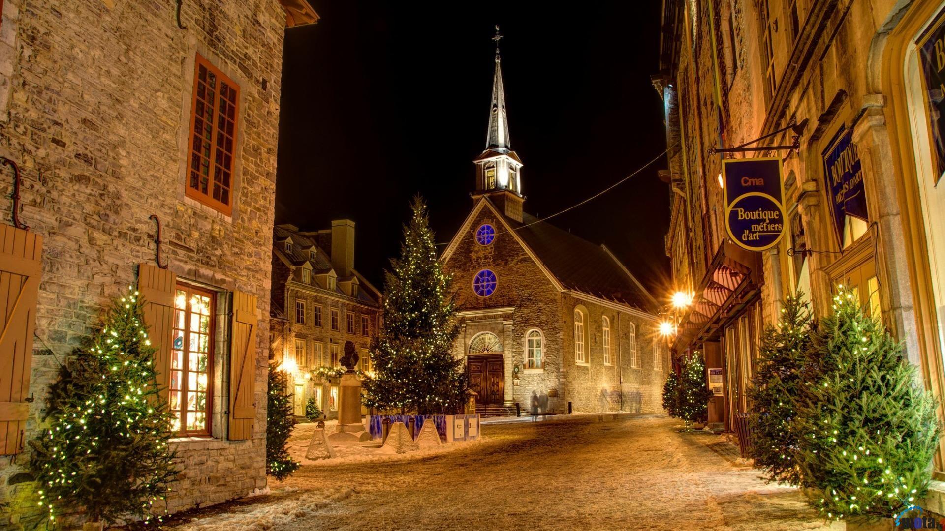 Christmas Eve (1920 x 1080 HDTV 1080p). Desktop wallpapers and photos