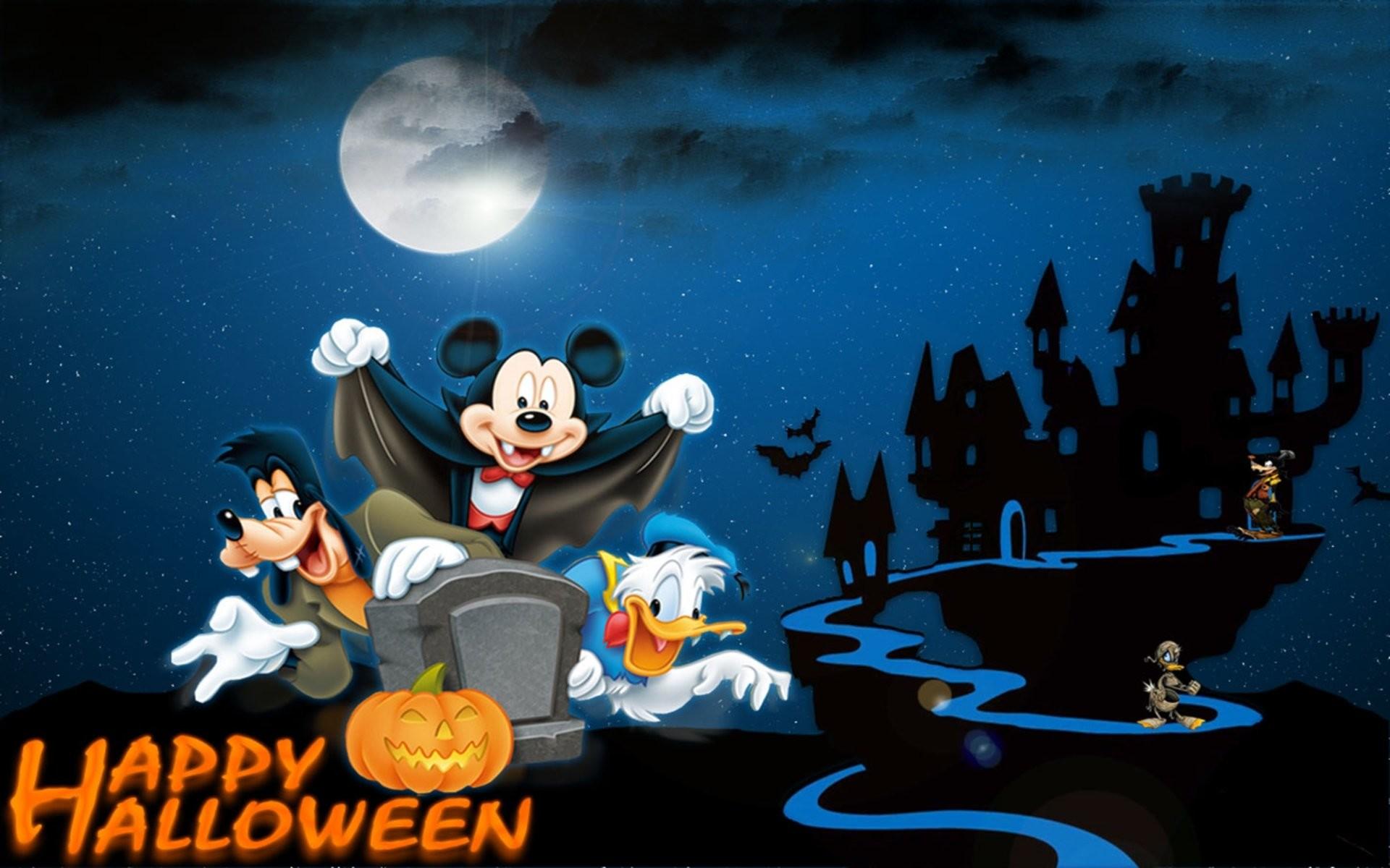Free Download Disney Halloween HD Pictures.