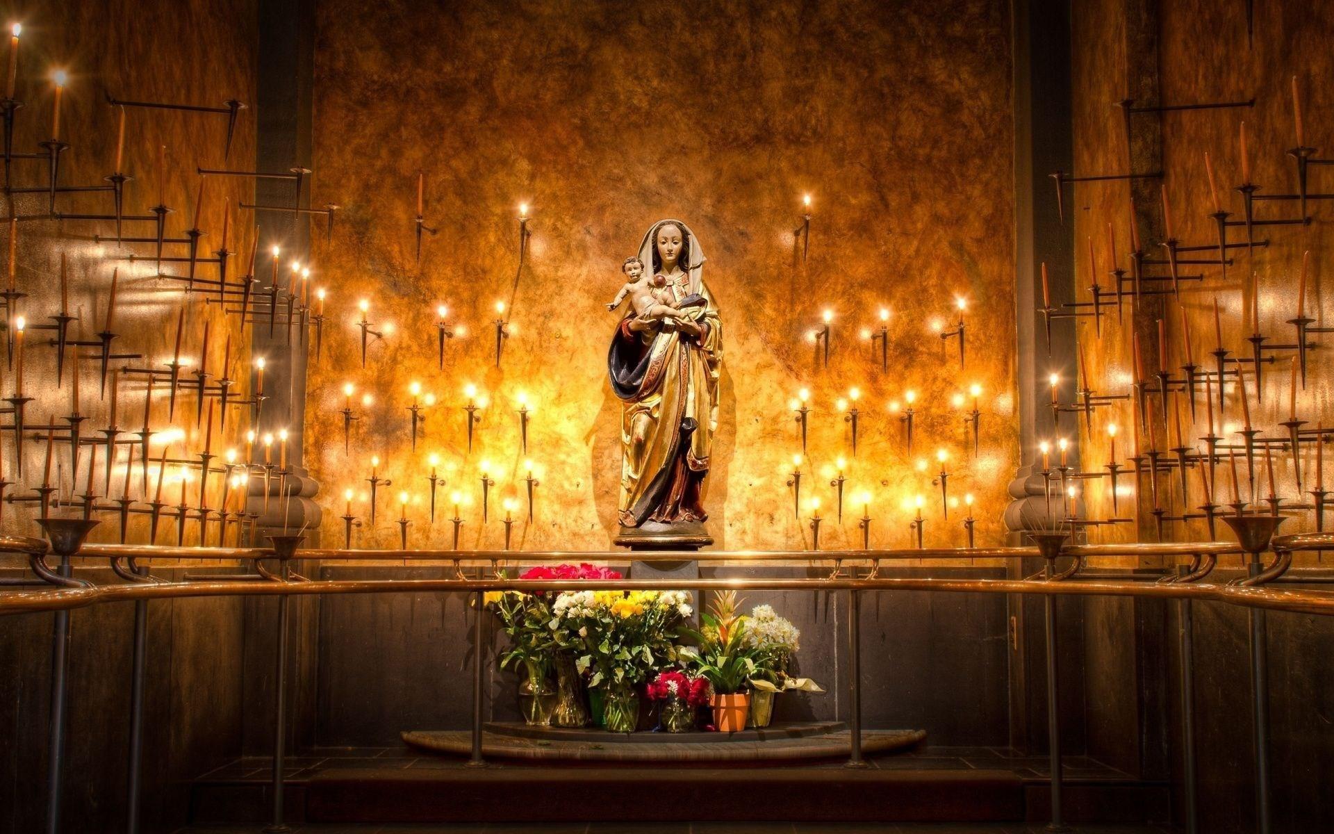 catholic advent wallpaper