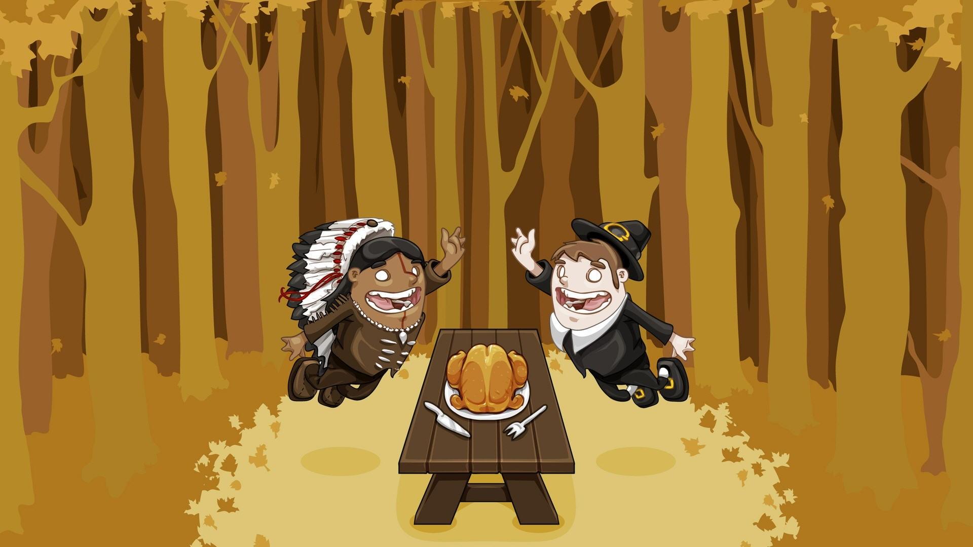 Cute Thanksgiving Desktop Background Wallpapers
