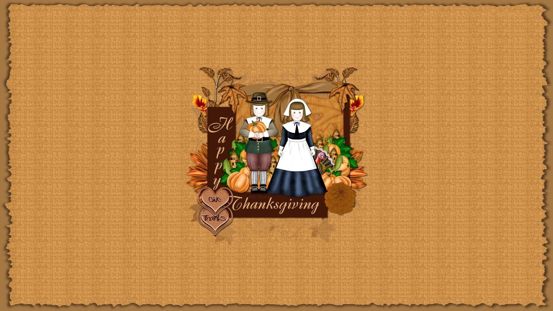 Cute Thanksgiving Wallpaper for Desktop.