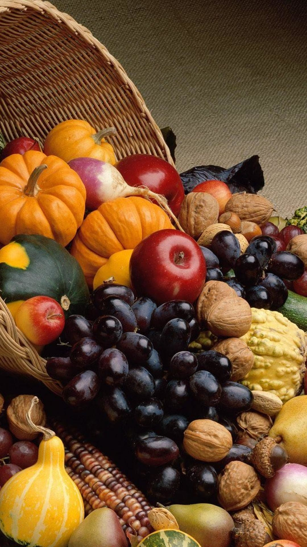 Fruits Thanksgiving iPhone 6 x and iPhone 6 Plus x Wallpaper in HD
