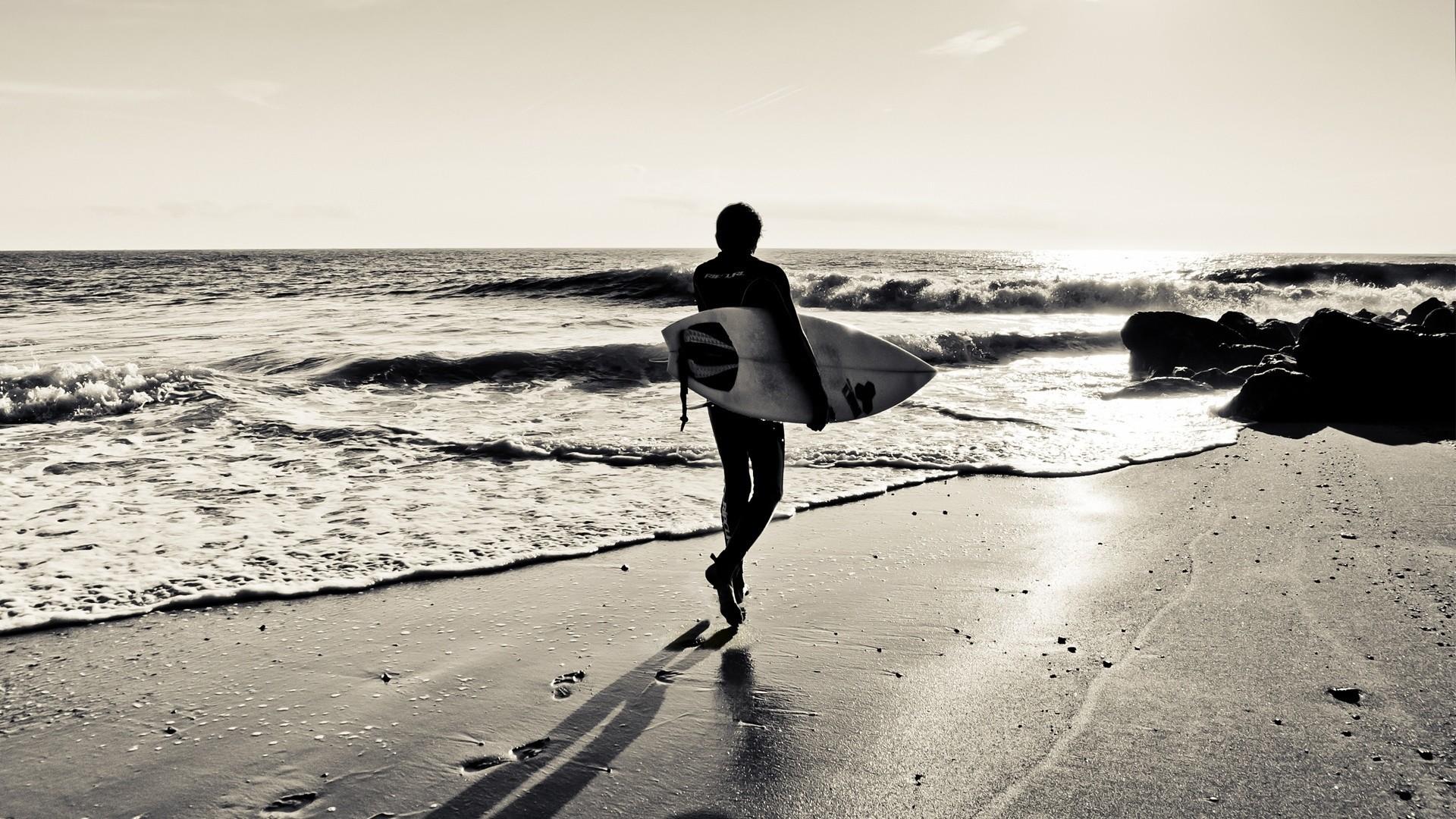 Wallpaper board, sand, surf, sea, surfing, sport