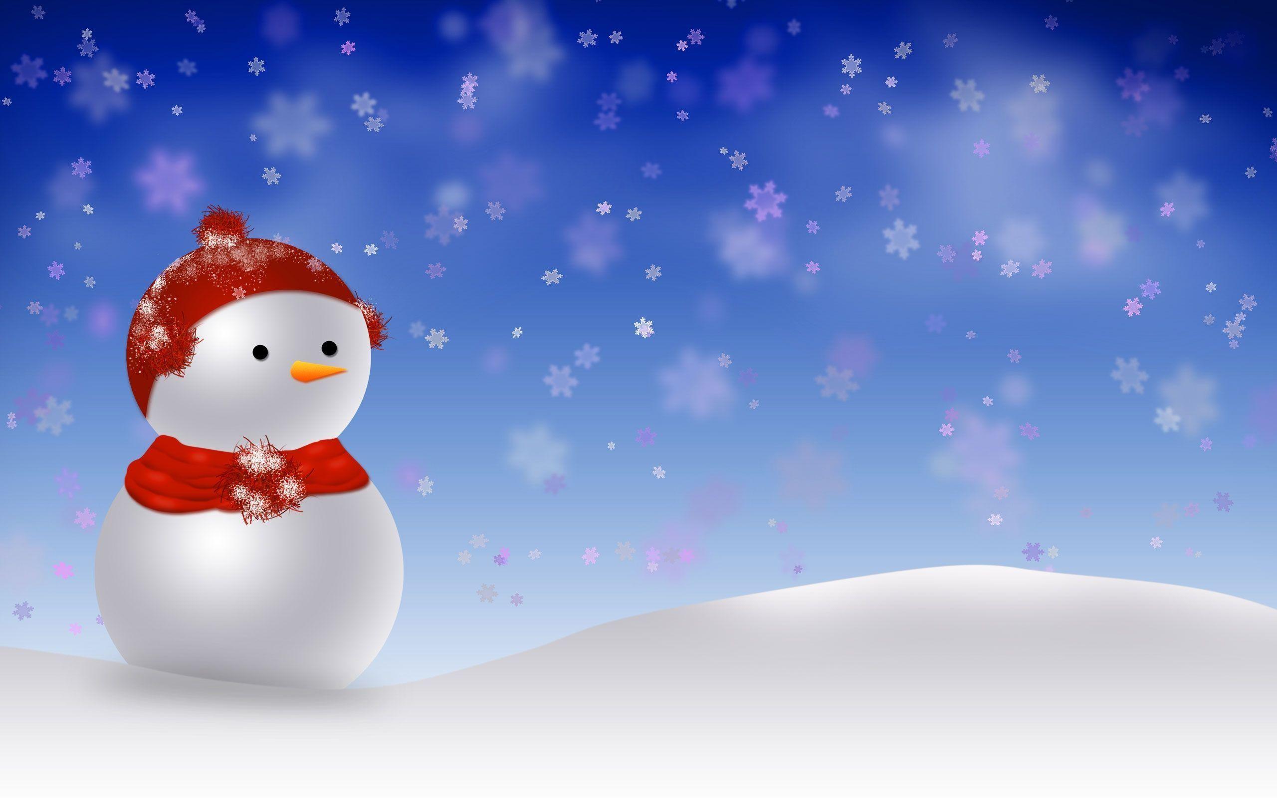 Cute Animated Merry Christmas Desktop Background Wallpaper .