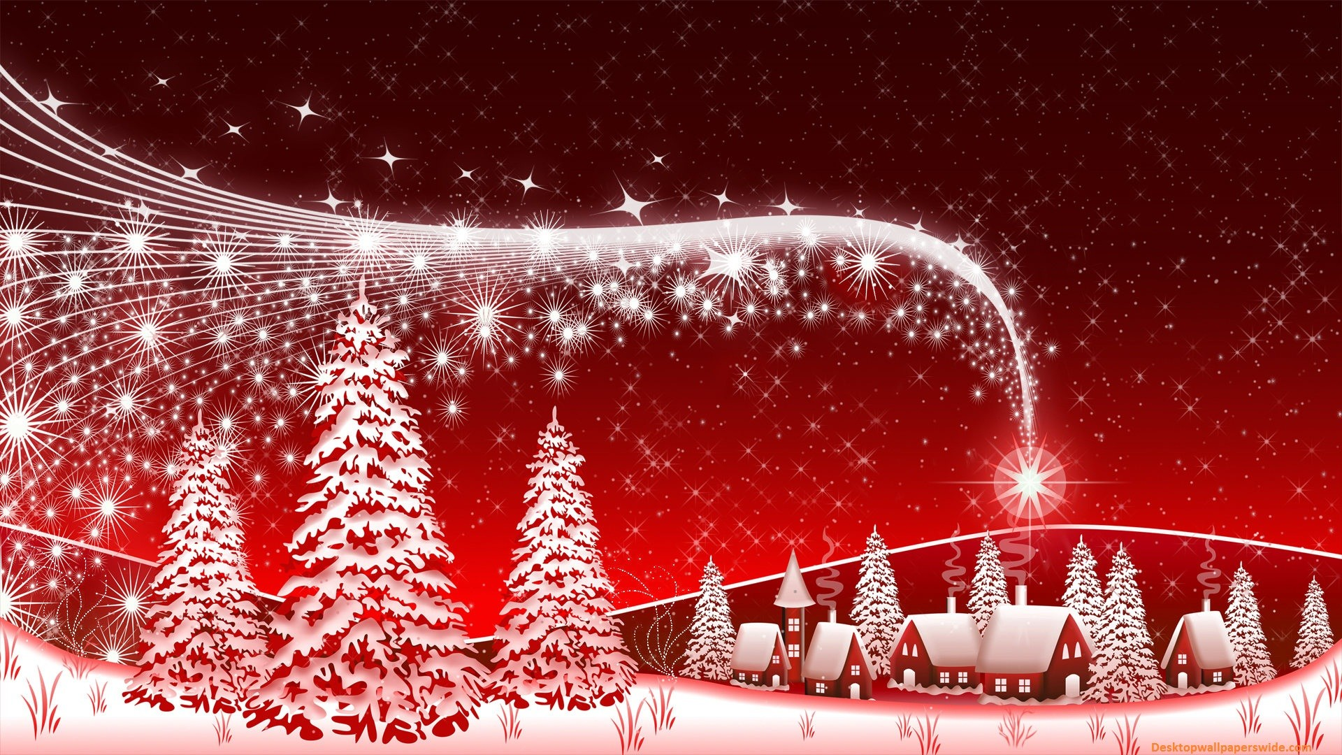Download Merry Christmas Wallpaper Computer Full Size