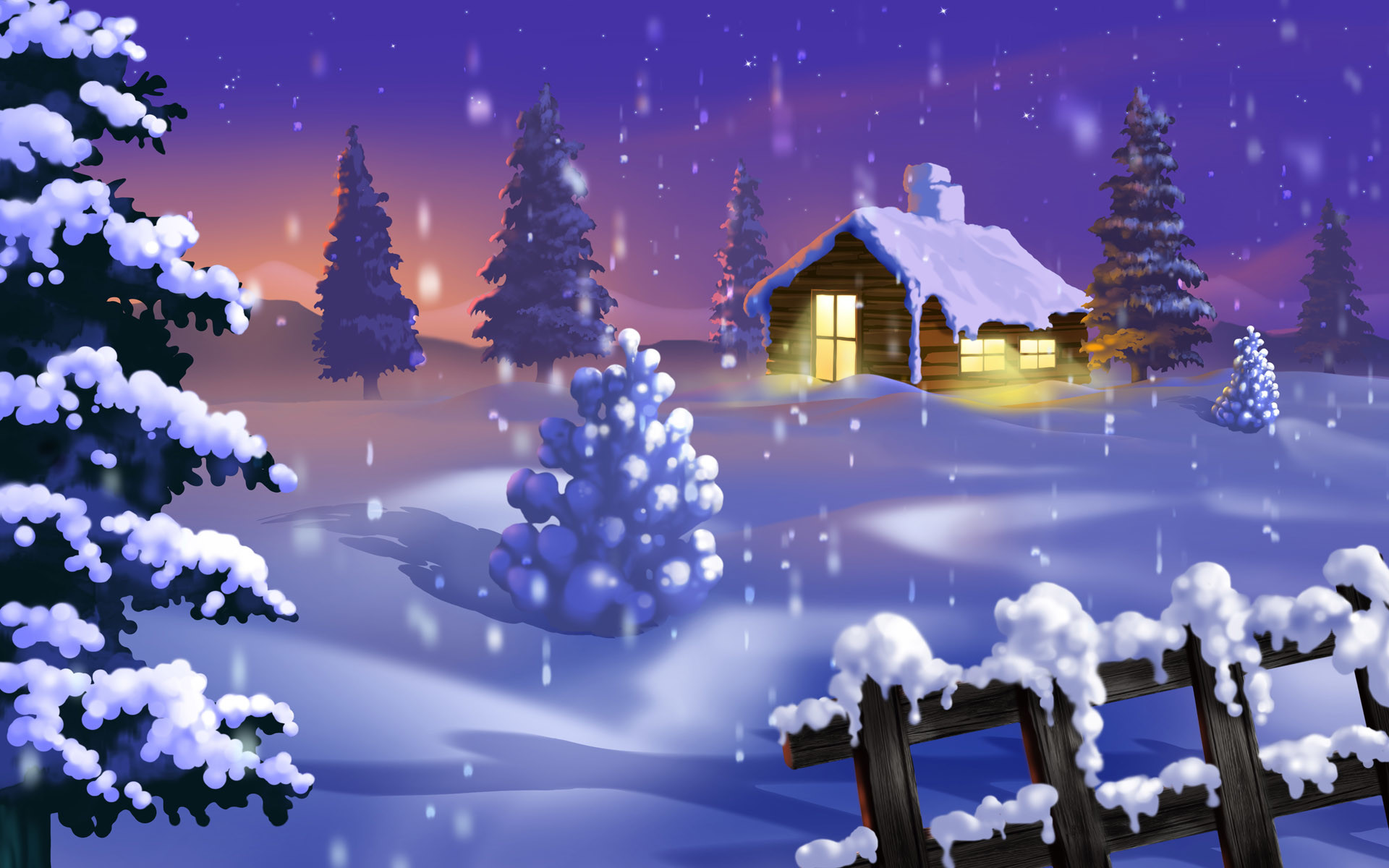 christmas winter wallpapers