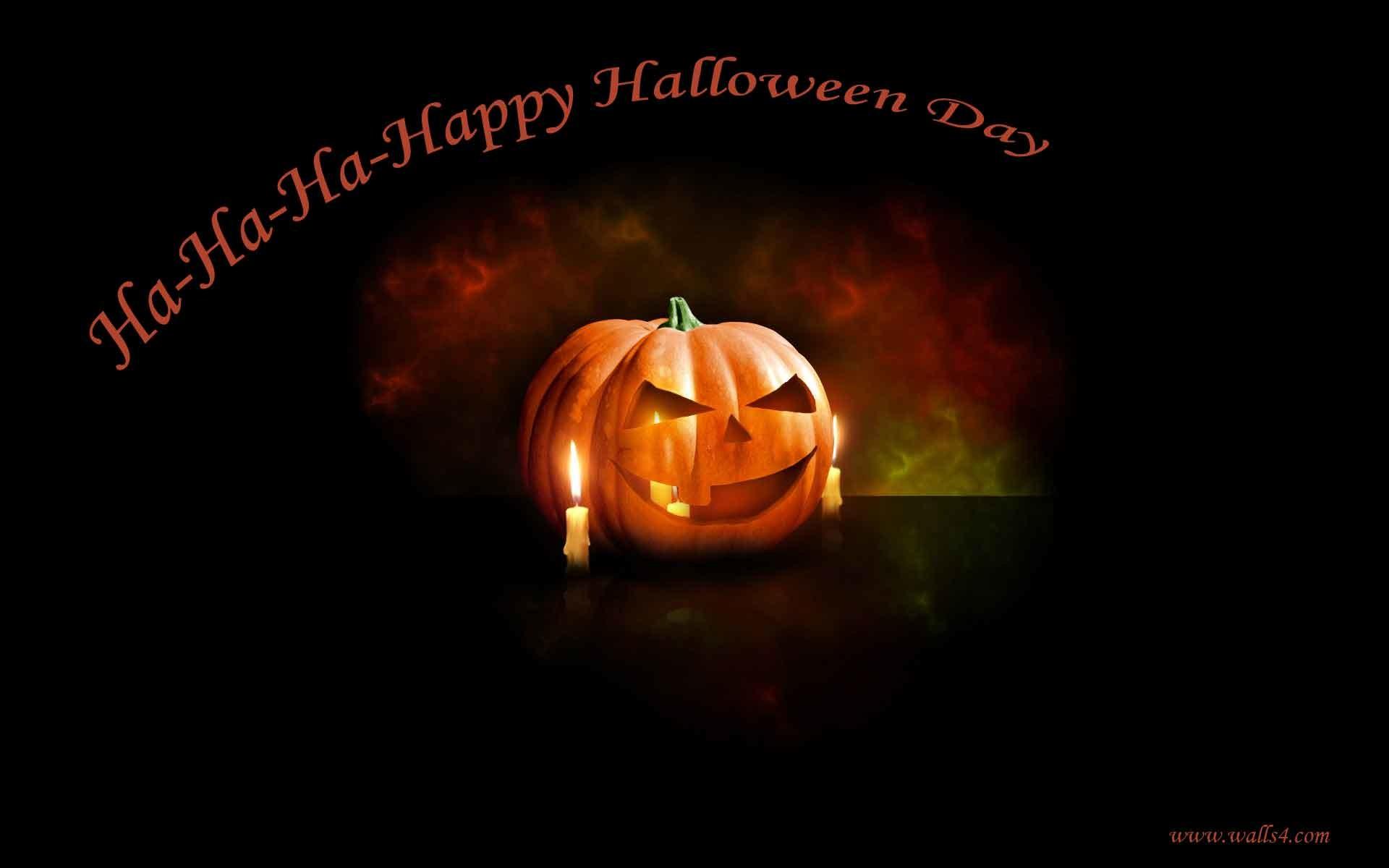 Free Wallpapers – Happy Halloween Day scary pumpkin wallpaper