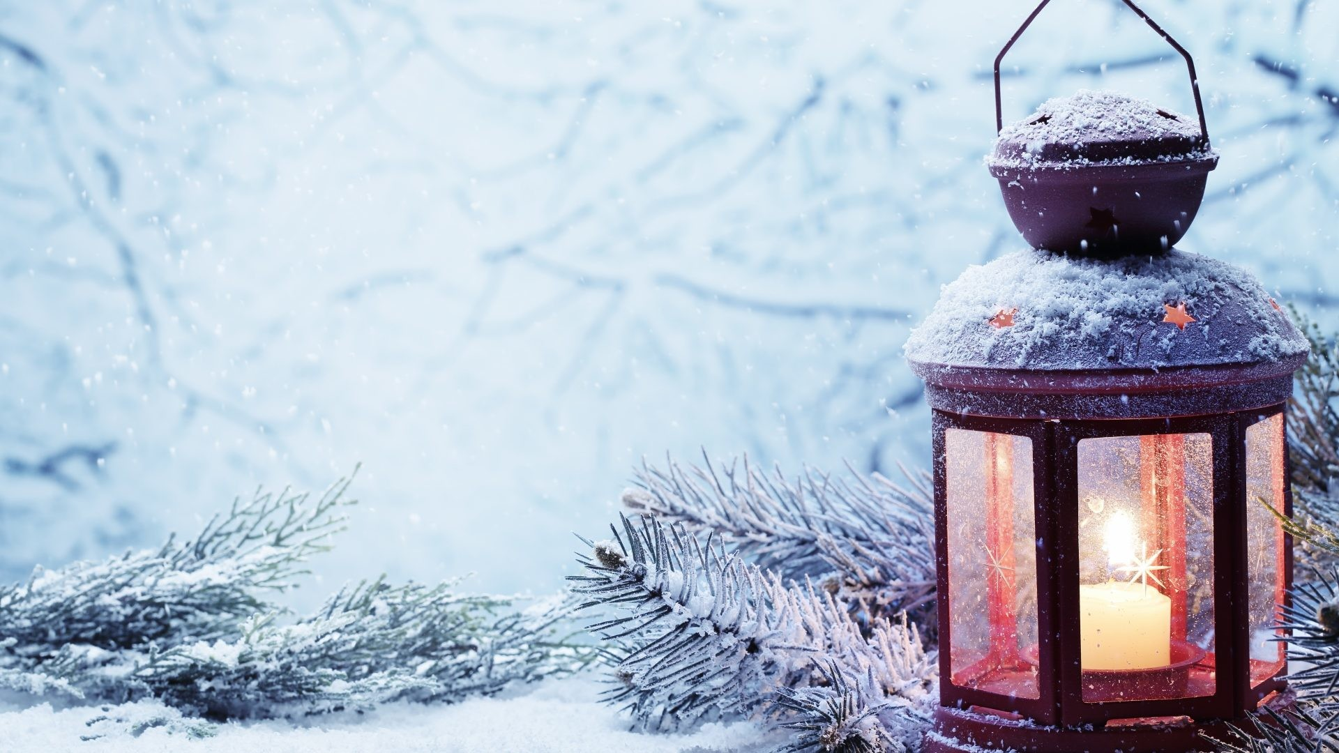 August 25, 2016 – Xmas Christmas Snow Winter Lantern Wallpaper Download for  HD 16: