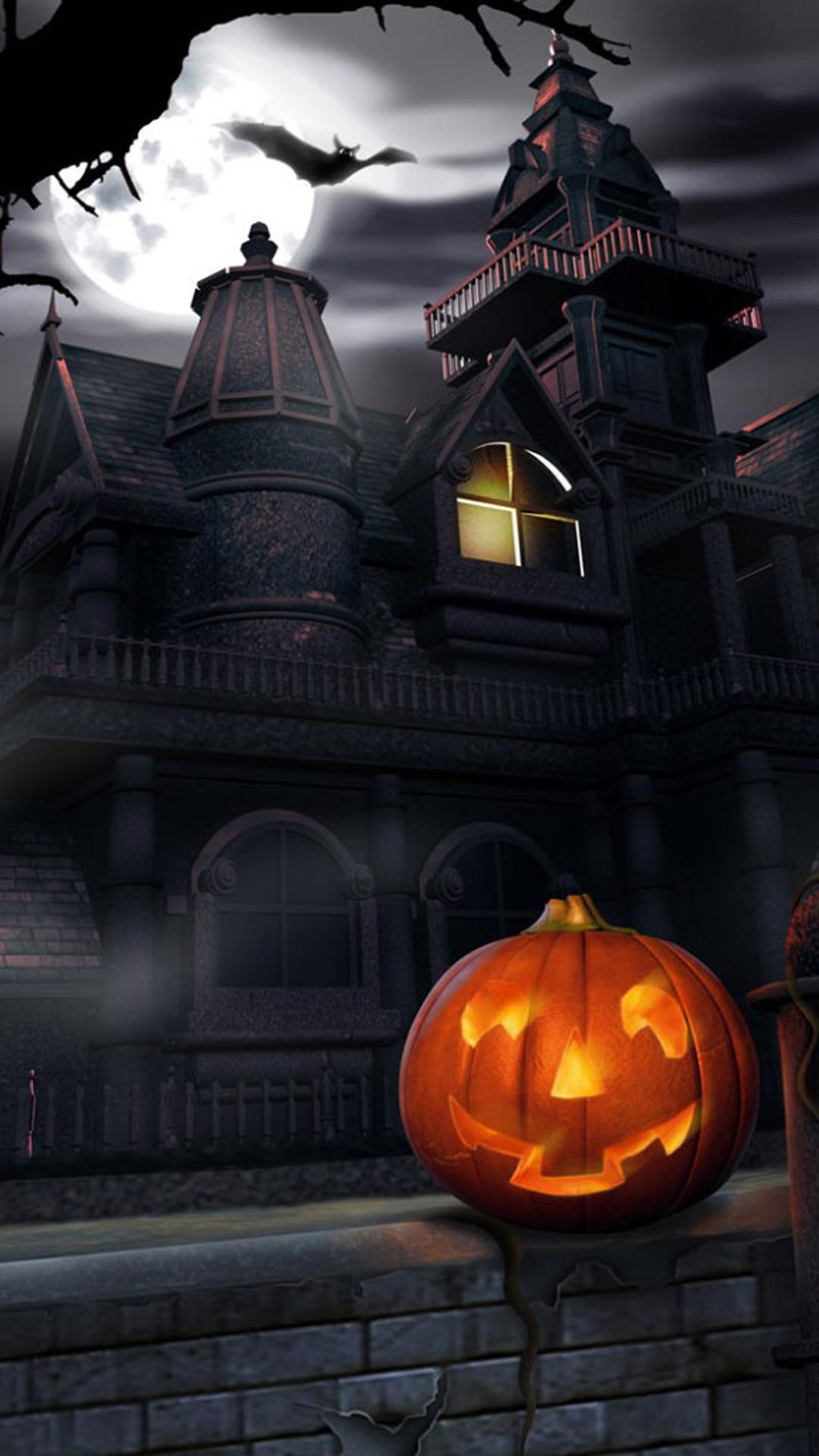 72 Live Halloween Wallpaper For Iphone