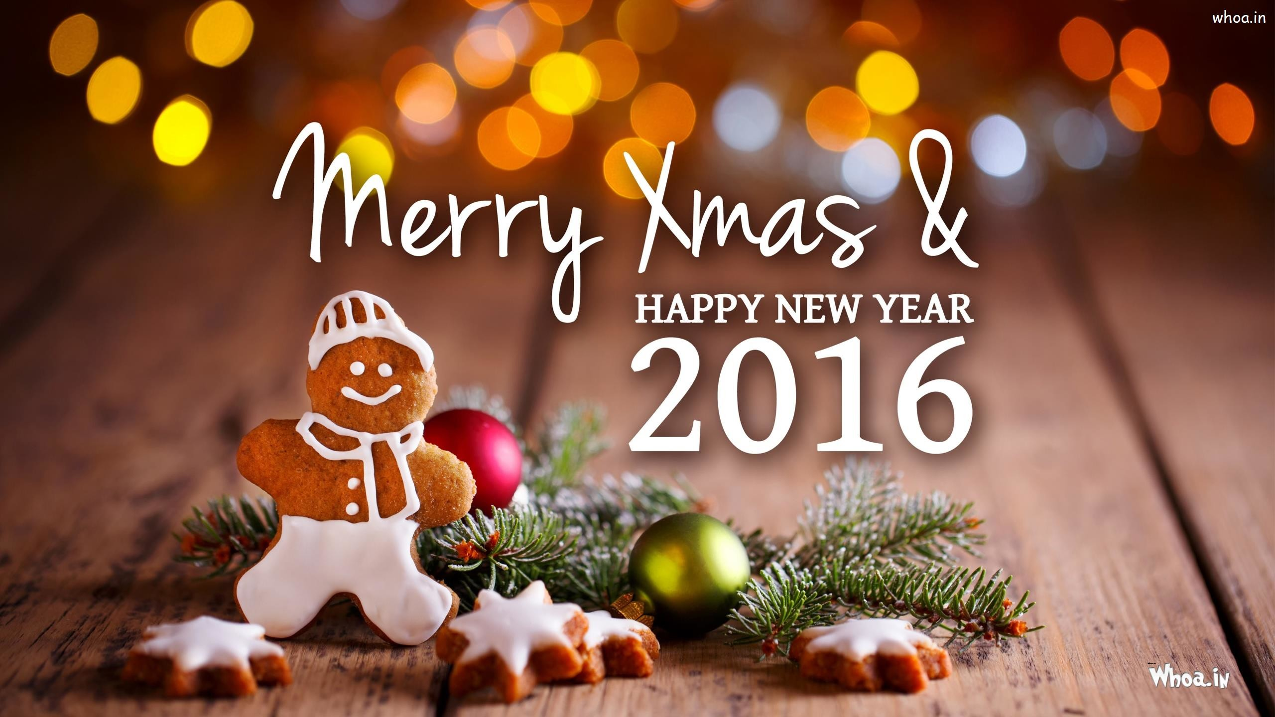 … 2016 Happy New Year with Merry Xmas HD Wallpaper …