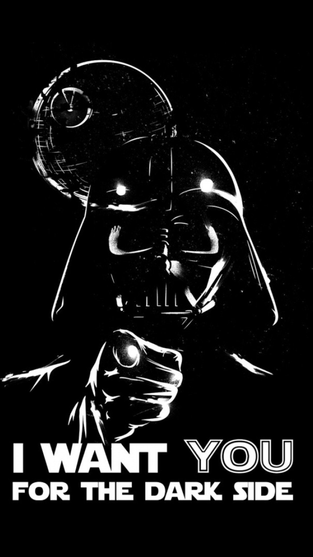 Darth Vader Dark Side – Tap to see more exciting Star Wars wallpaper!  @mobile9