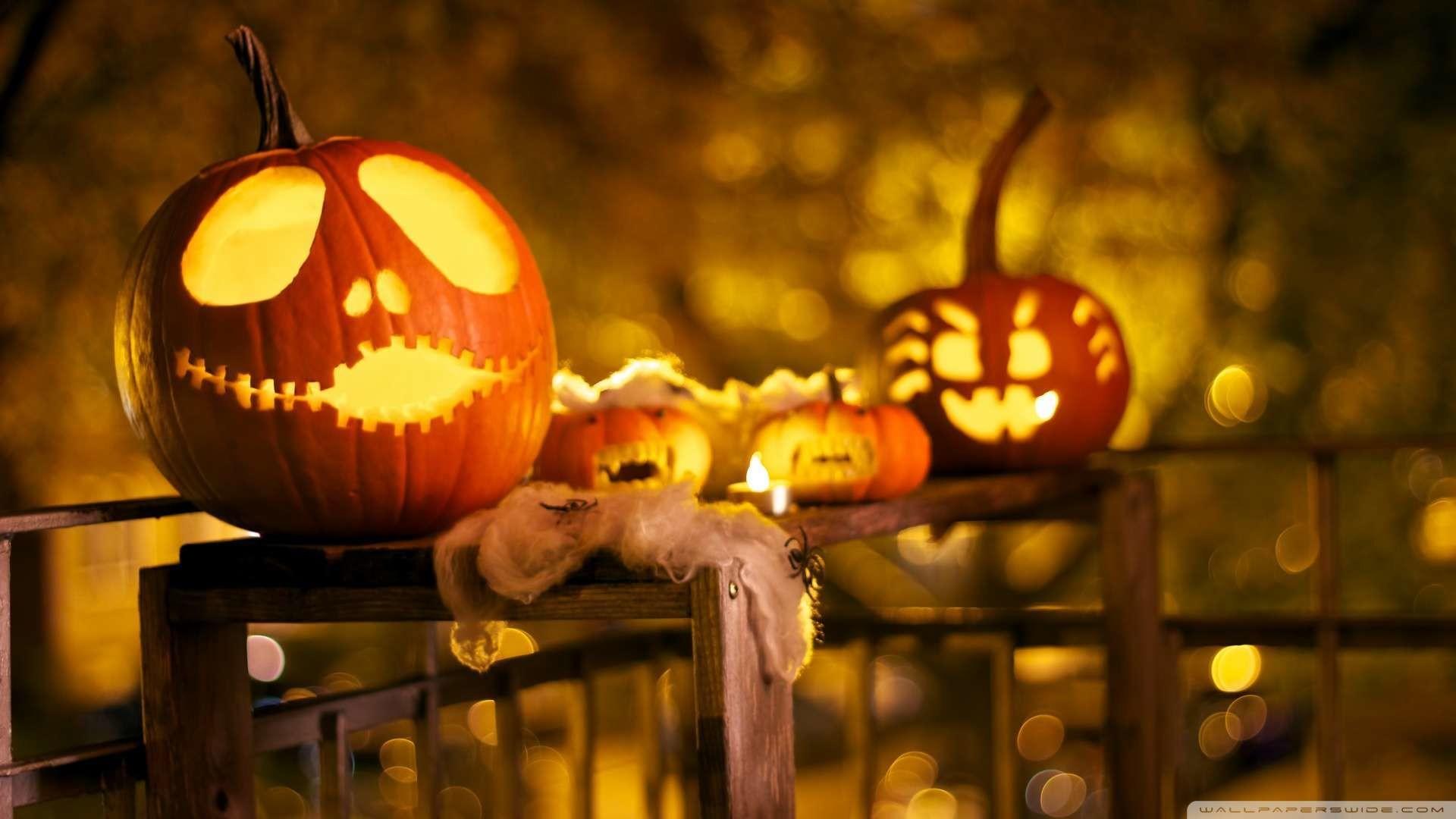 Happy Halloween Hd Desktop Wallpaper | HDWallWide