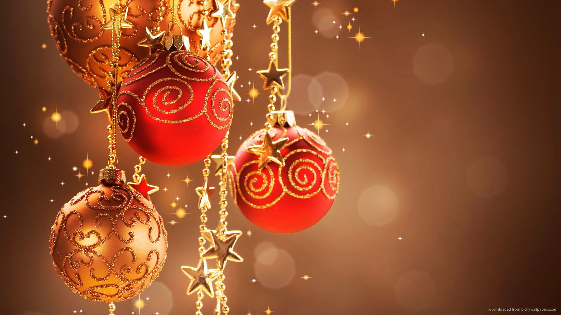 balls christmas christmas tree decorations gold related wallpapers