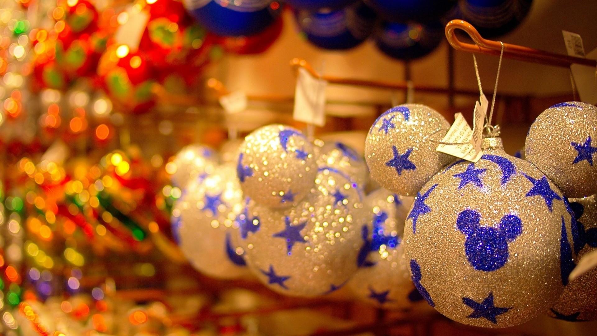 Wallpaper christmas decorations, balloons, hang, tinsel, christmas