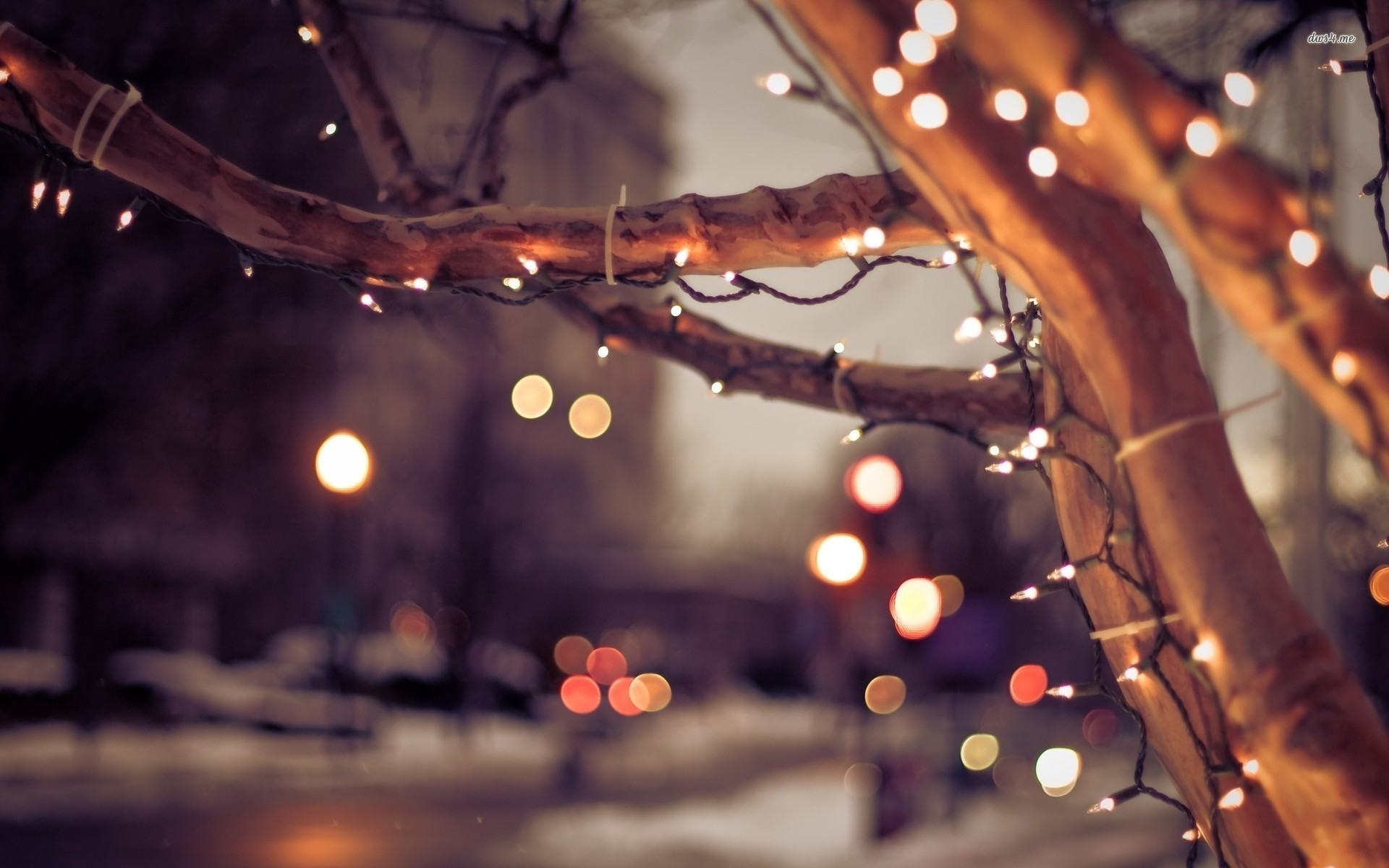 Christmas Lights Desktop HD Wallpapers
