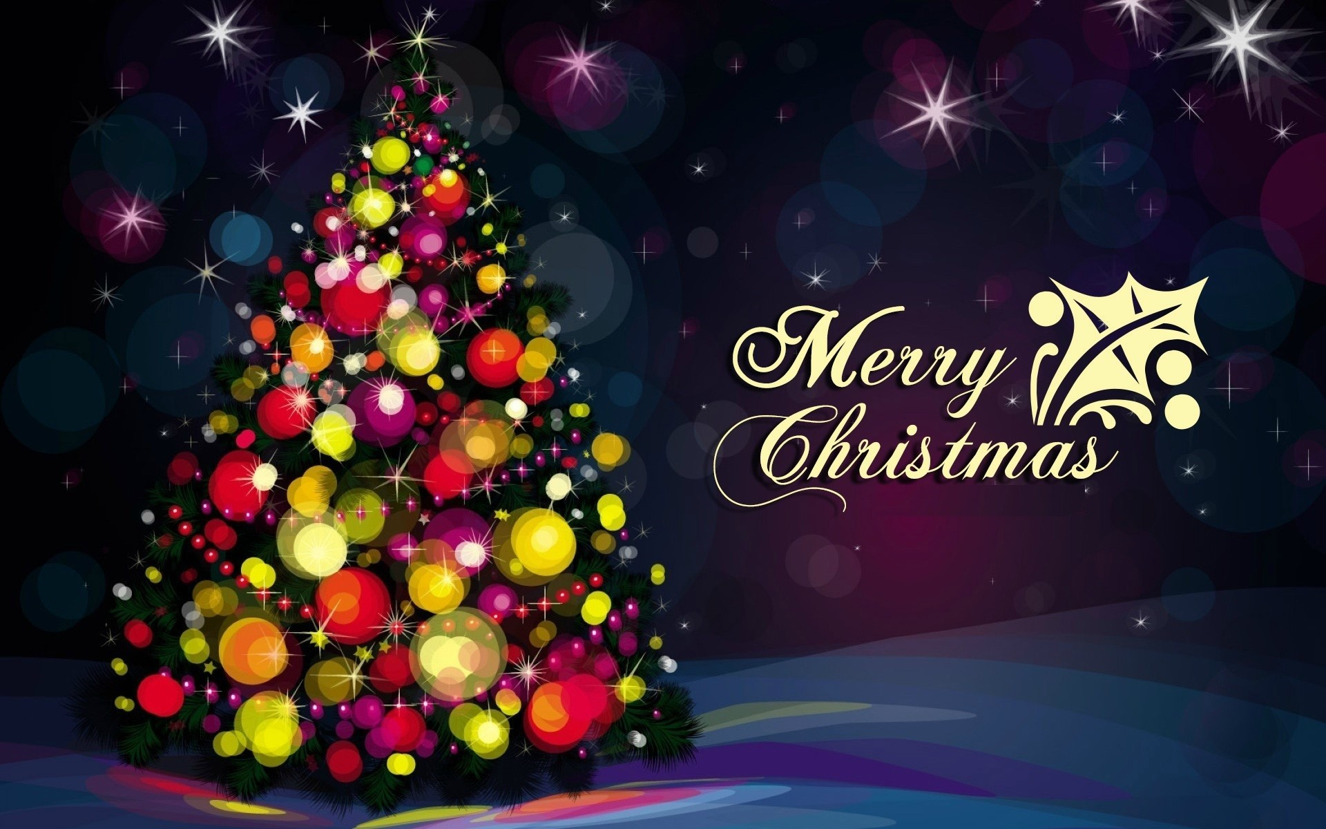Merry Christmas Celebration Wallpapers Free.