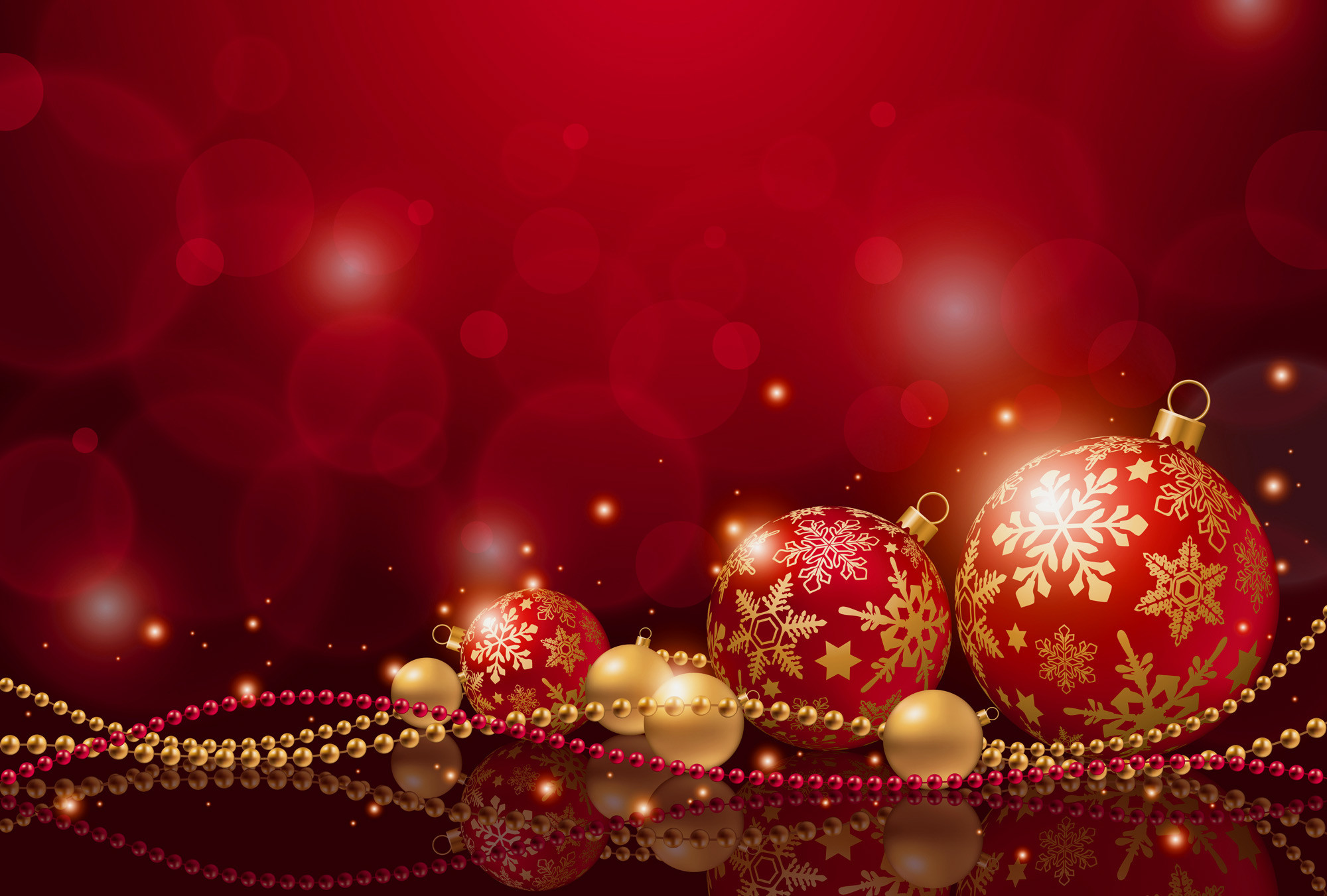 Red Christmas Backgrounds (13)