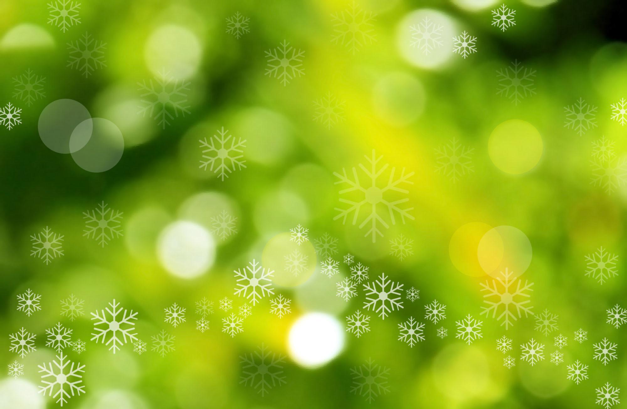 Light Green Christmas Background (09)