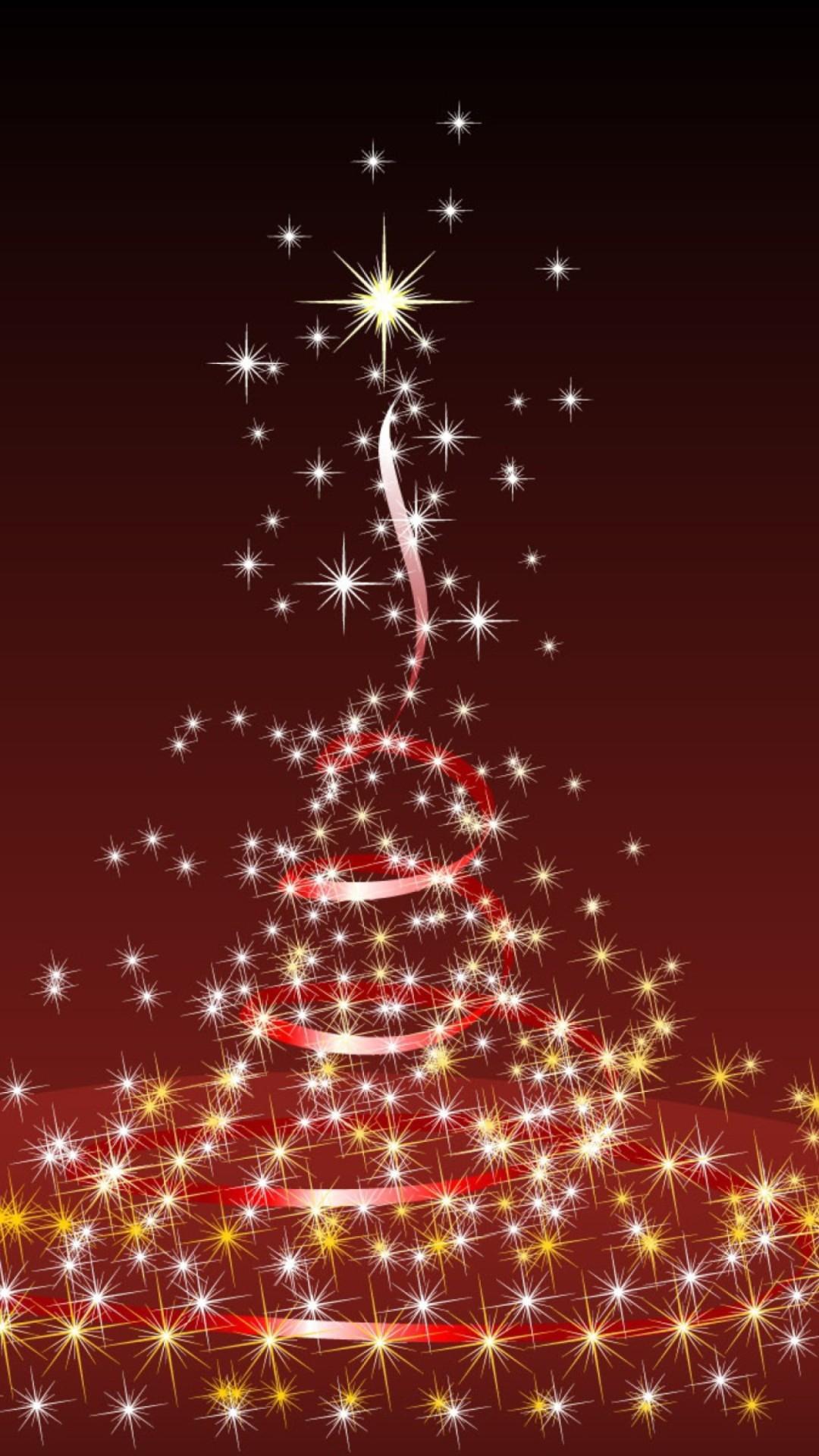 Merry Christmas Lights 1080×1920.