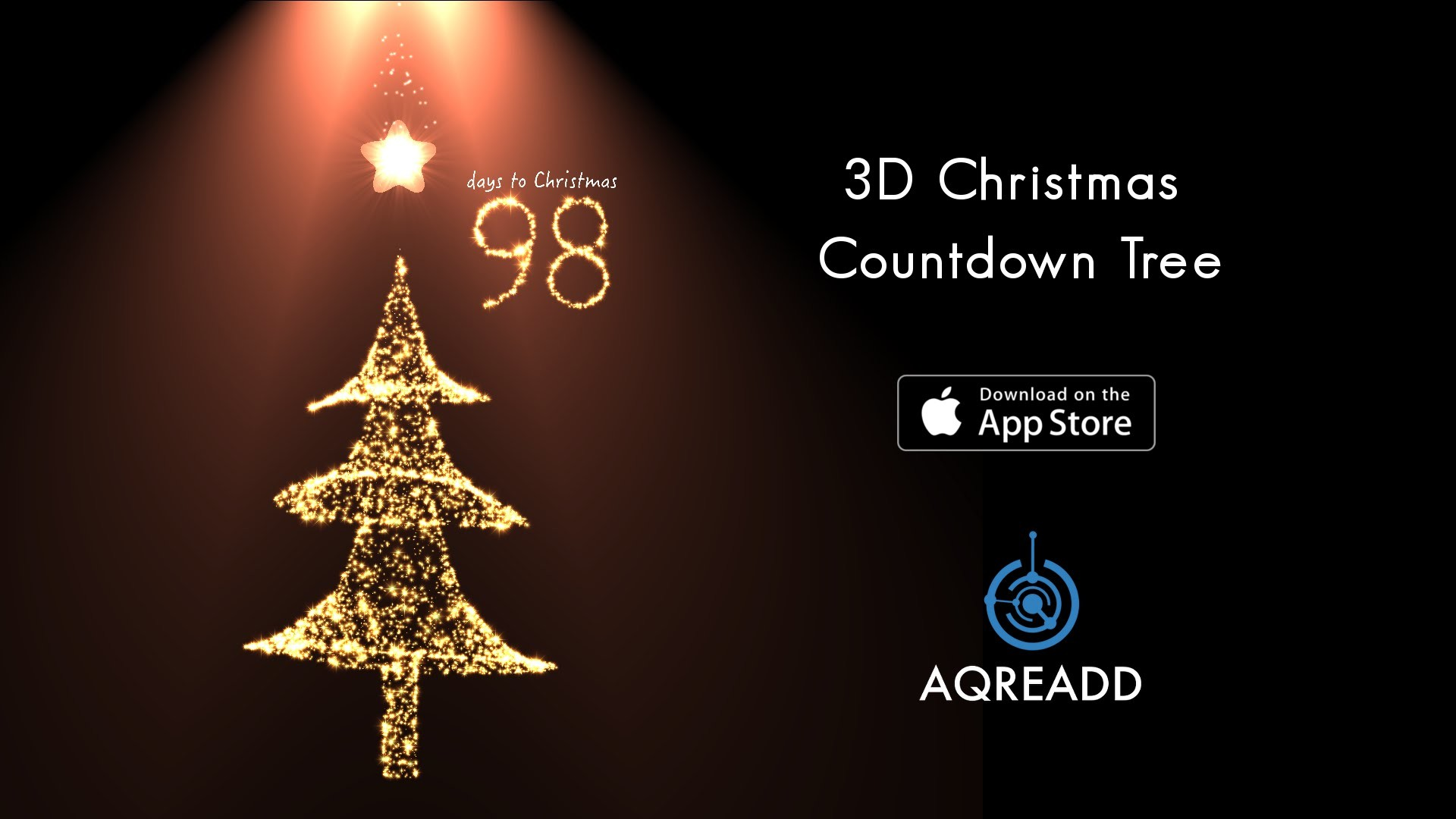 3D Christmas Countdown Tree for iPhone 6, iPhone 6 plus, iPhone 5s & iPad –  YouTube