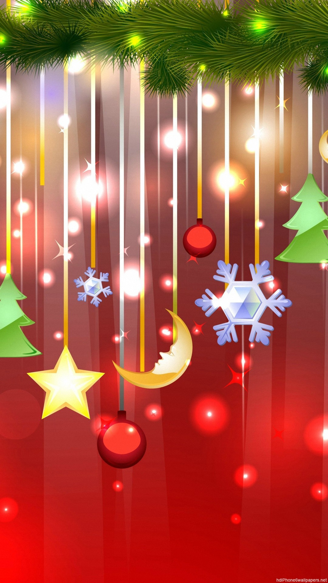 Christmas iPhone 6 Wallpapers HD and Christmas 6 Plus Wallpapers 1080P