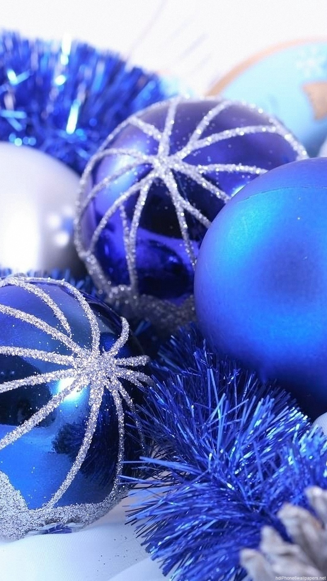 dark blue christmas new year iphone 6 wallpapers
