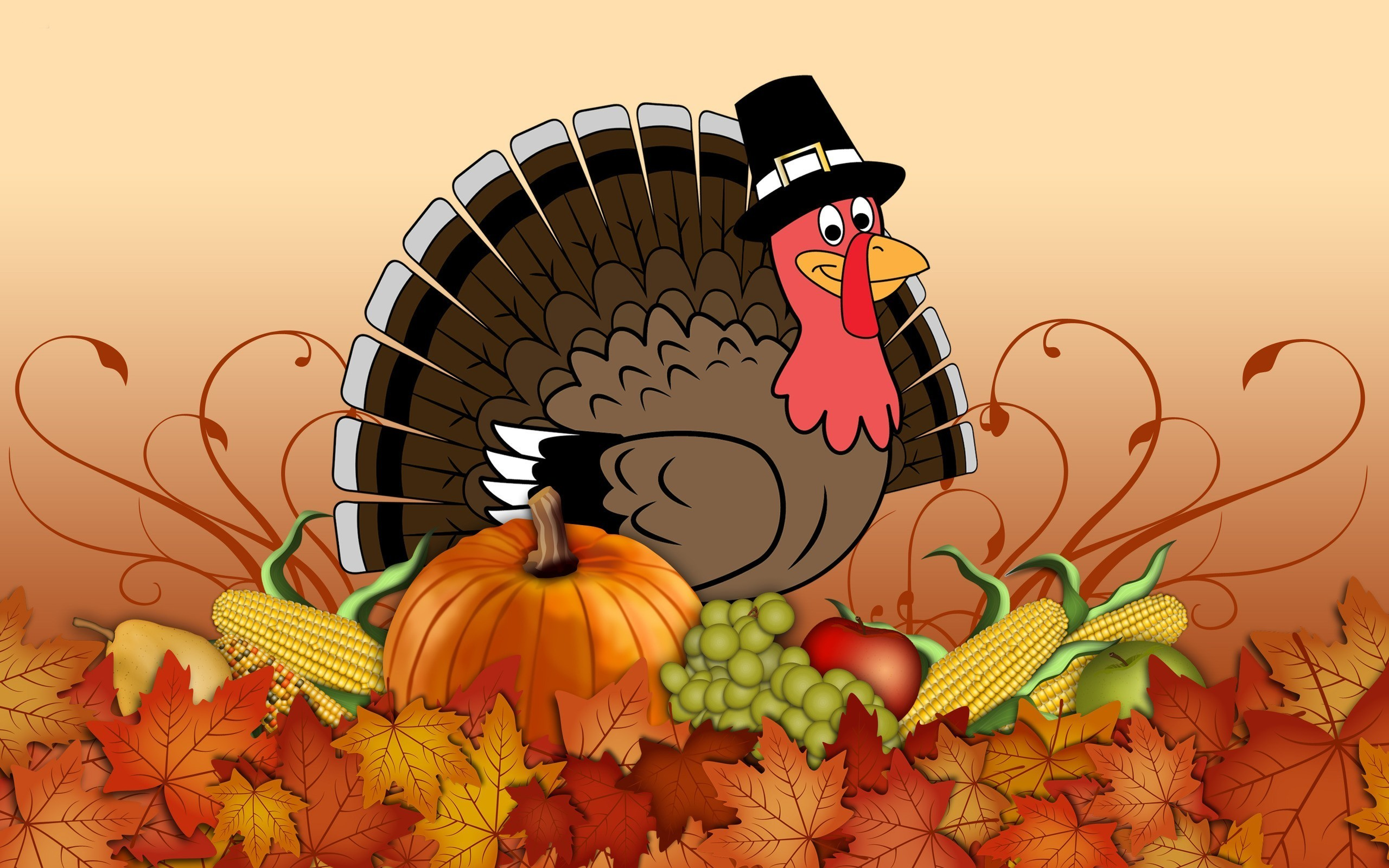 Funny Thanksgiving Wallpaper Free.