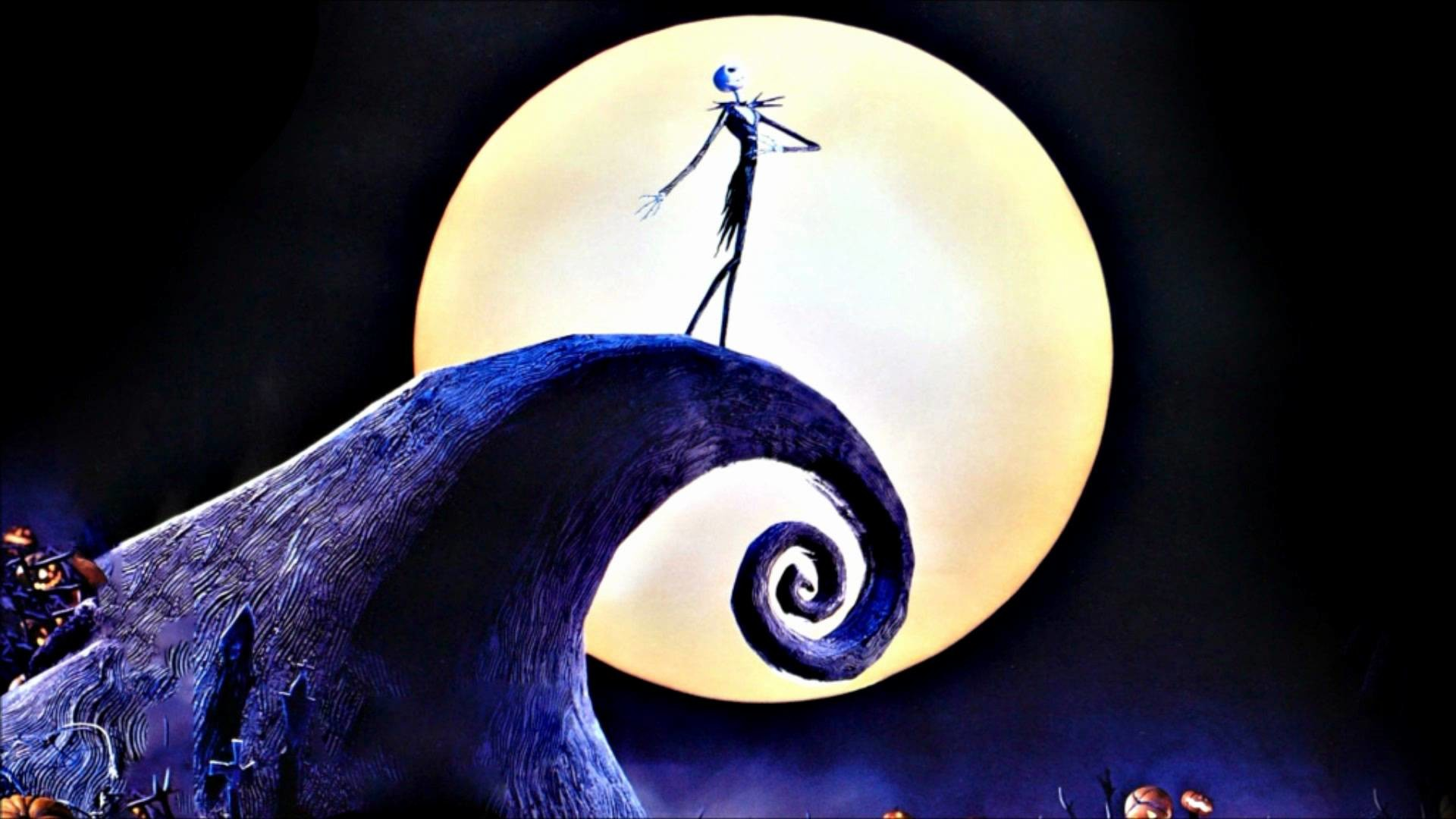 Wallpapers For > Nightmare Before Christmas Jack And Sally Desktop .