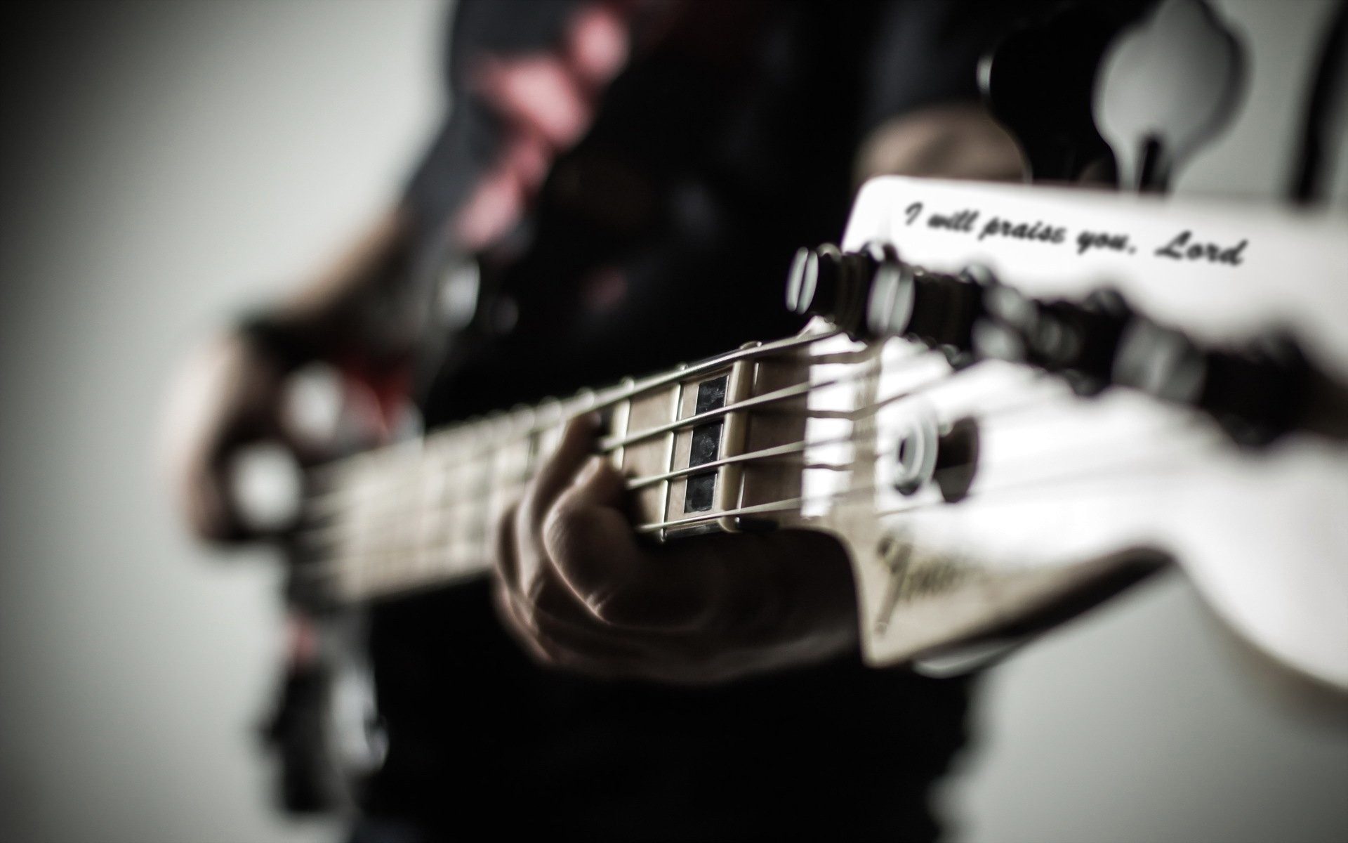 bass player I will praise you Lord christian wallpaper hd