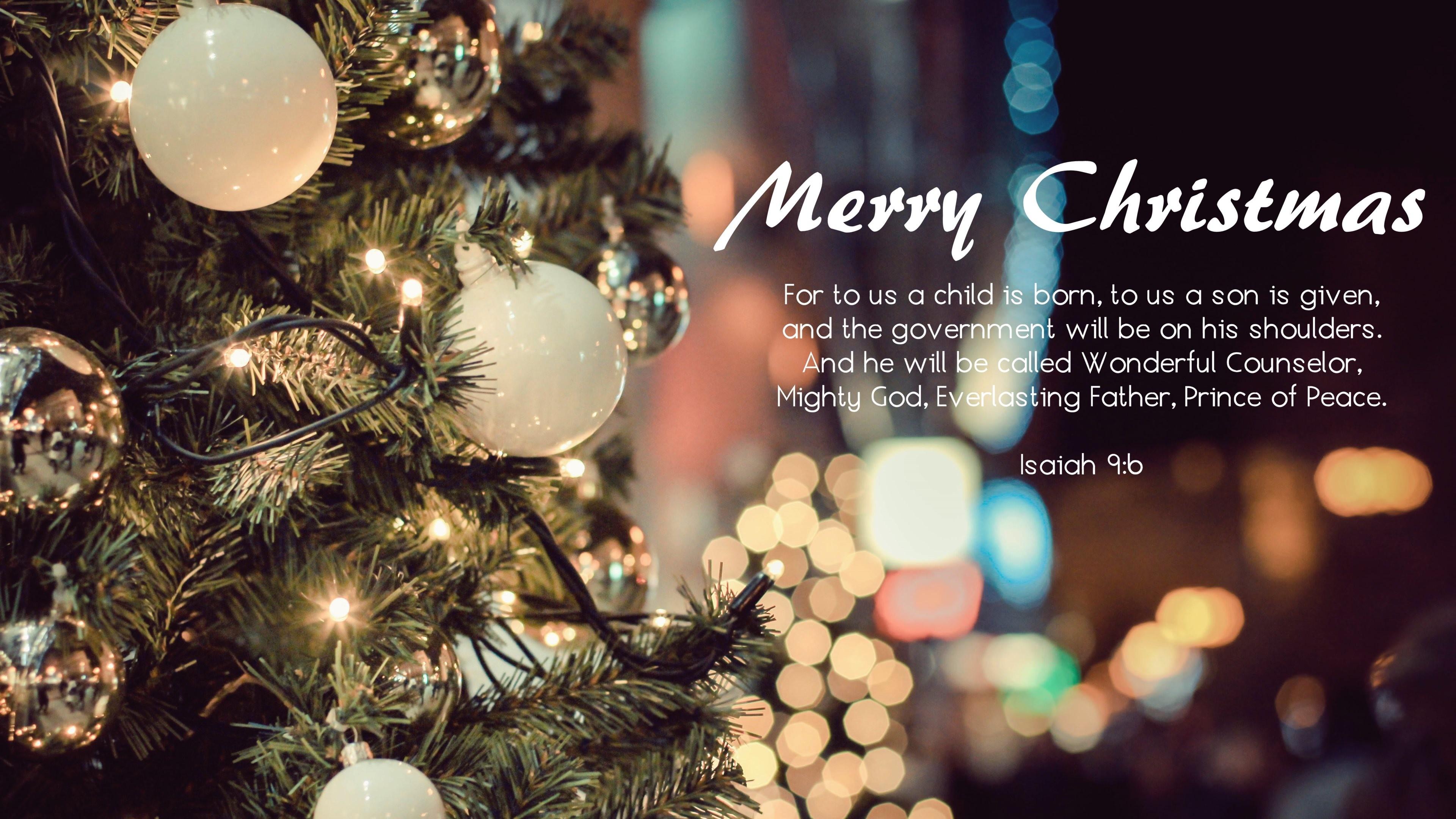 Wallpaper: Christmas Greetings. Ultra HD 4K 3840×2160