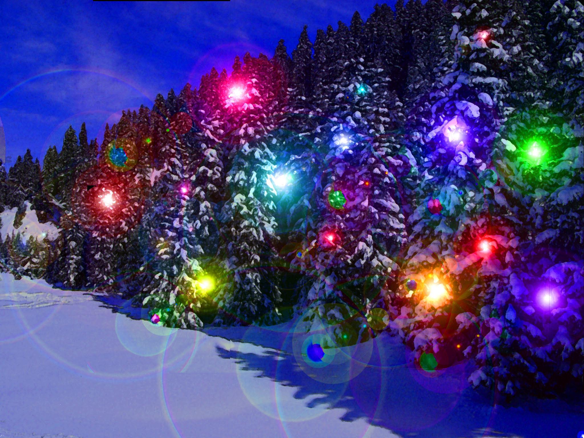 Christmas Lights Wallpapers ~ Toptenpack.com
