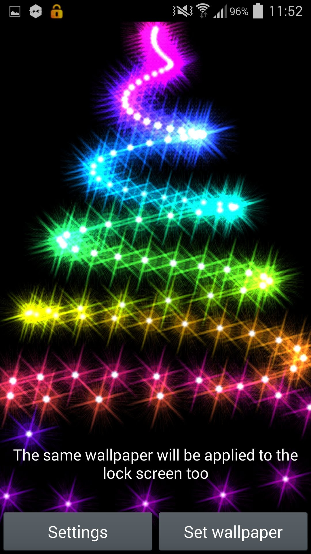 'Christmas Lights 2014' Live Wallpaper for Android – YouTube