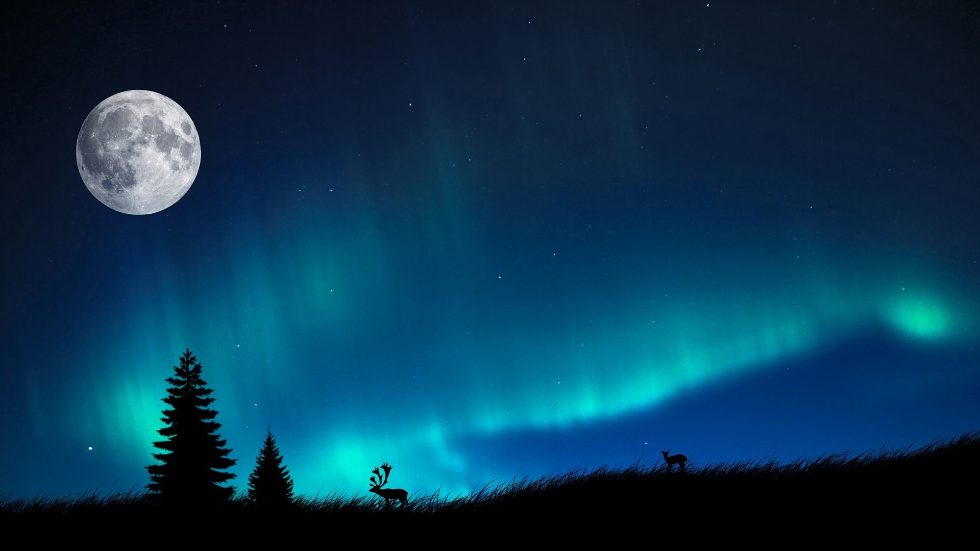 Awesome Northern Lights Background Northern Lights Wallpapers