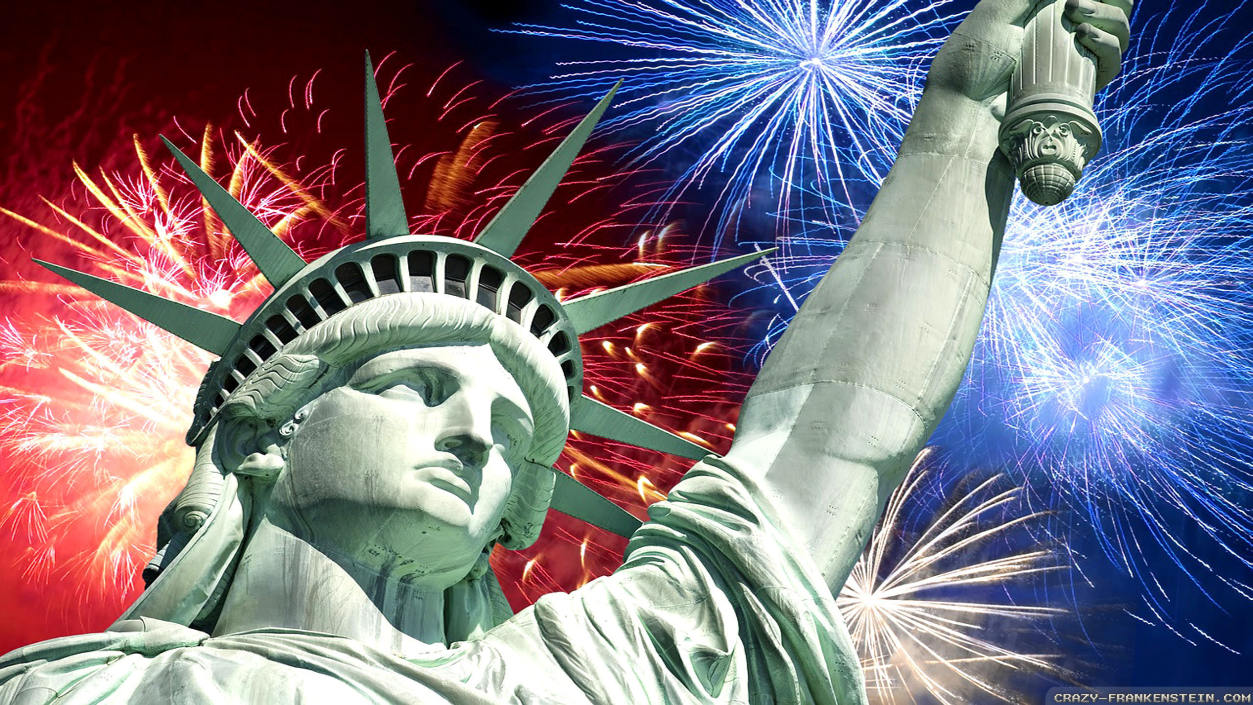 July 4th Fireworks wallpapers – Independence Day wallpapers – Crazy .