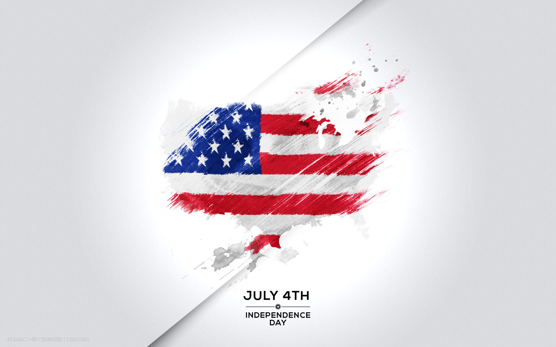 … july 4th independence day usa flag map abstract holiday