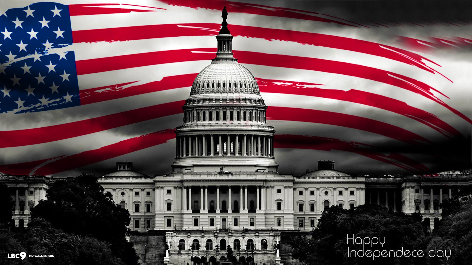 happy independence day 4th july holiday us flag white house holiday desktop  wallpaper