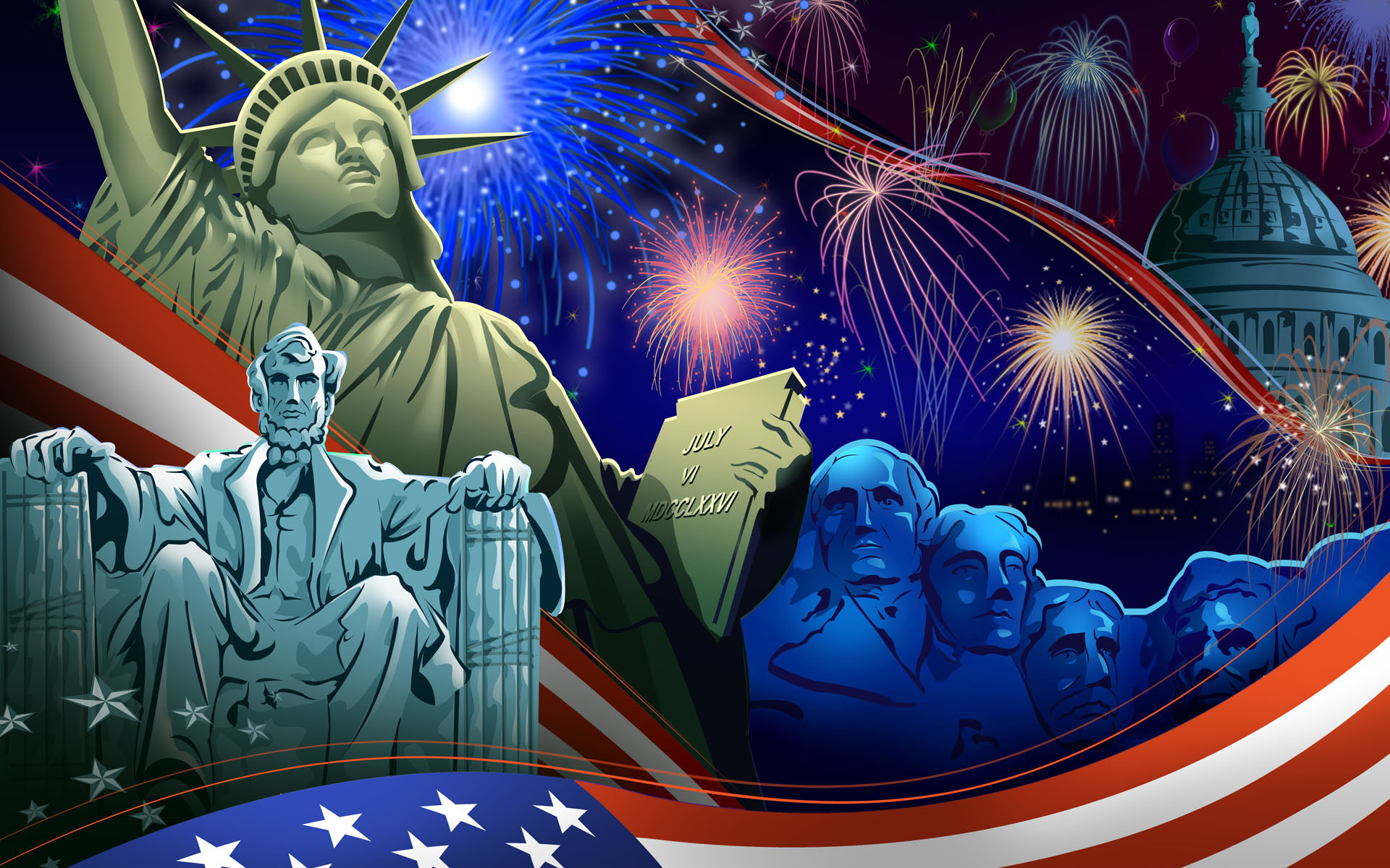 HD Wallpaper for 4th July Amazing 4th July Screensavers Free Download