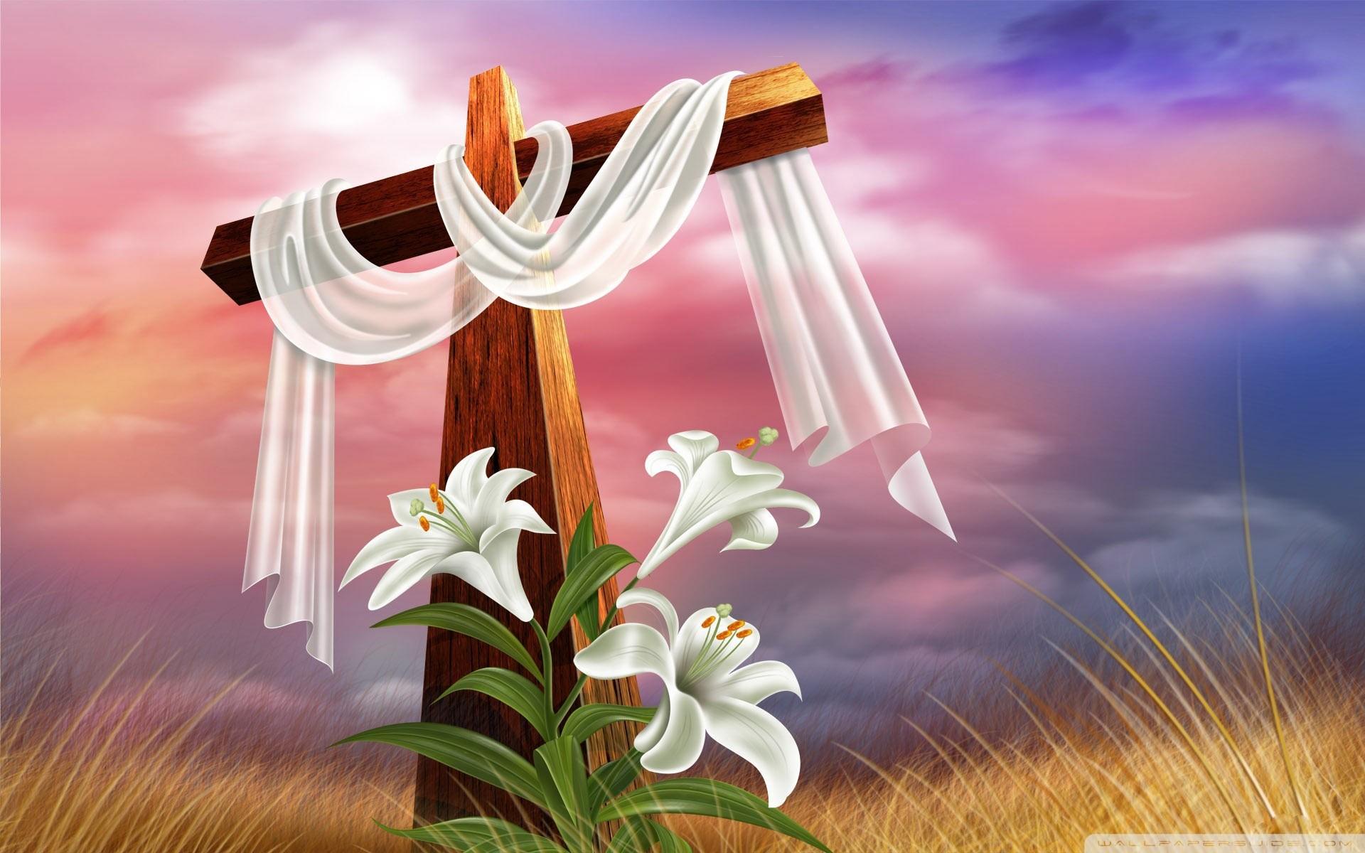 Easter Cross HD Wide Wallpaper for Widescreen